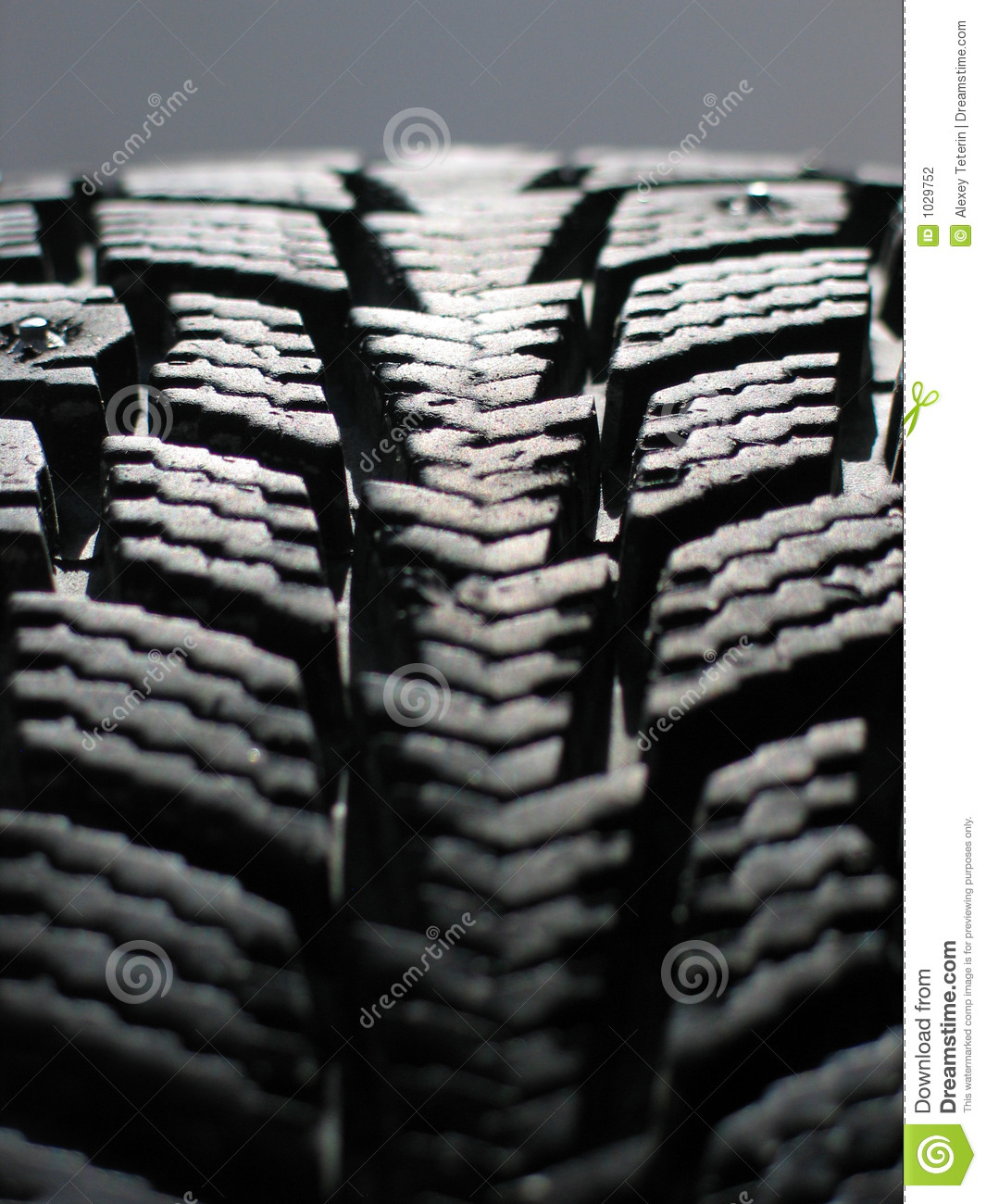 Snow tyre stock photo. Image of black, pattern, wheel - 1029752