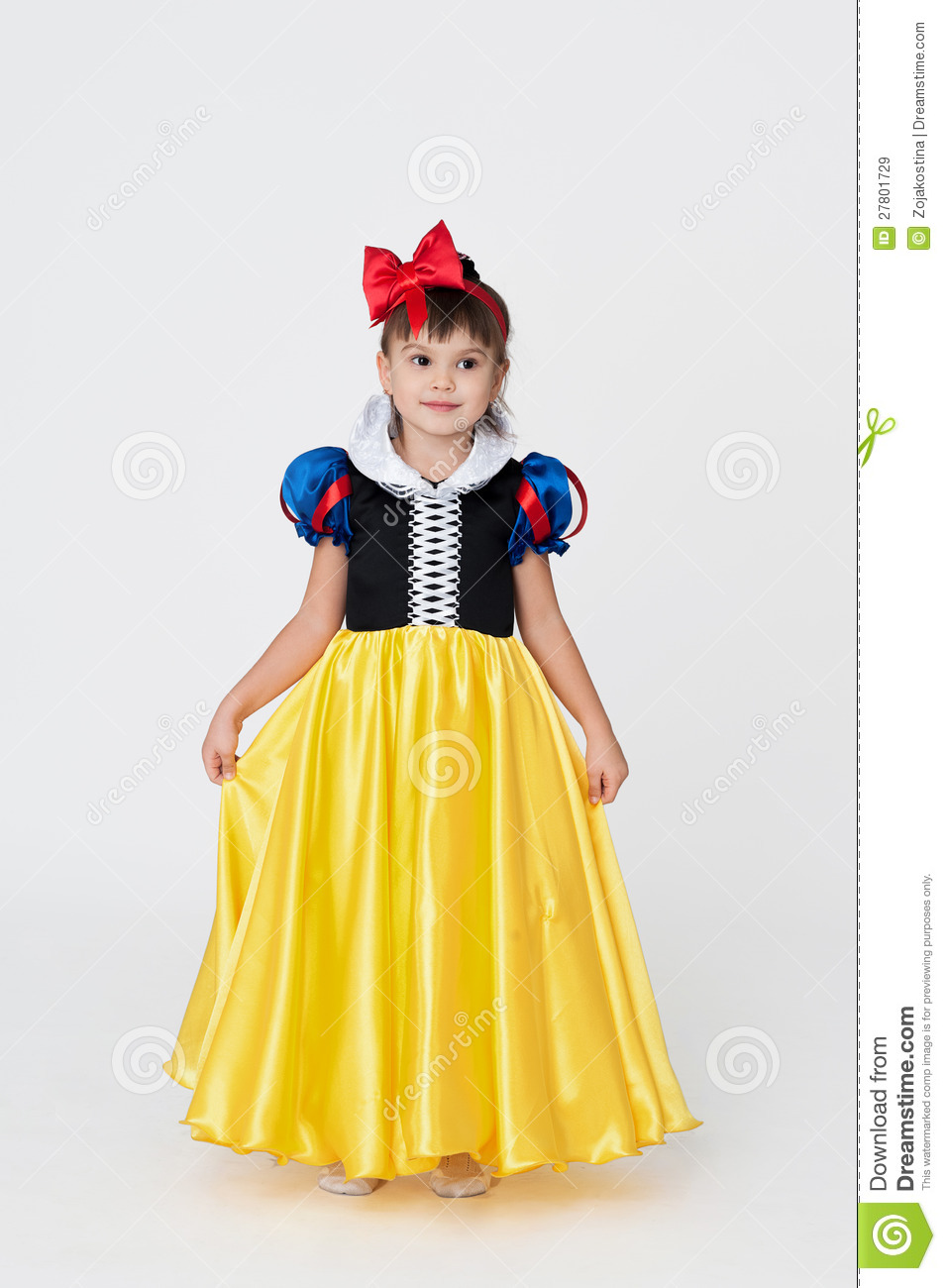 Snow White Fancy Dress Royalty Free Stock Images - Image: 27801729
