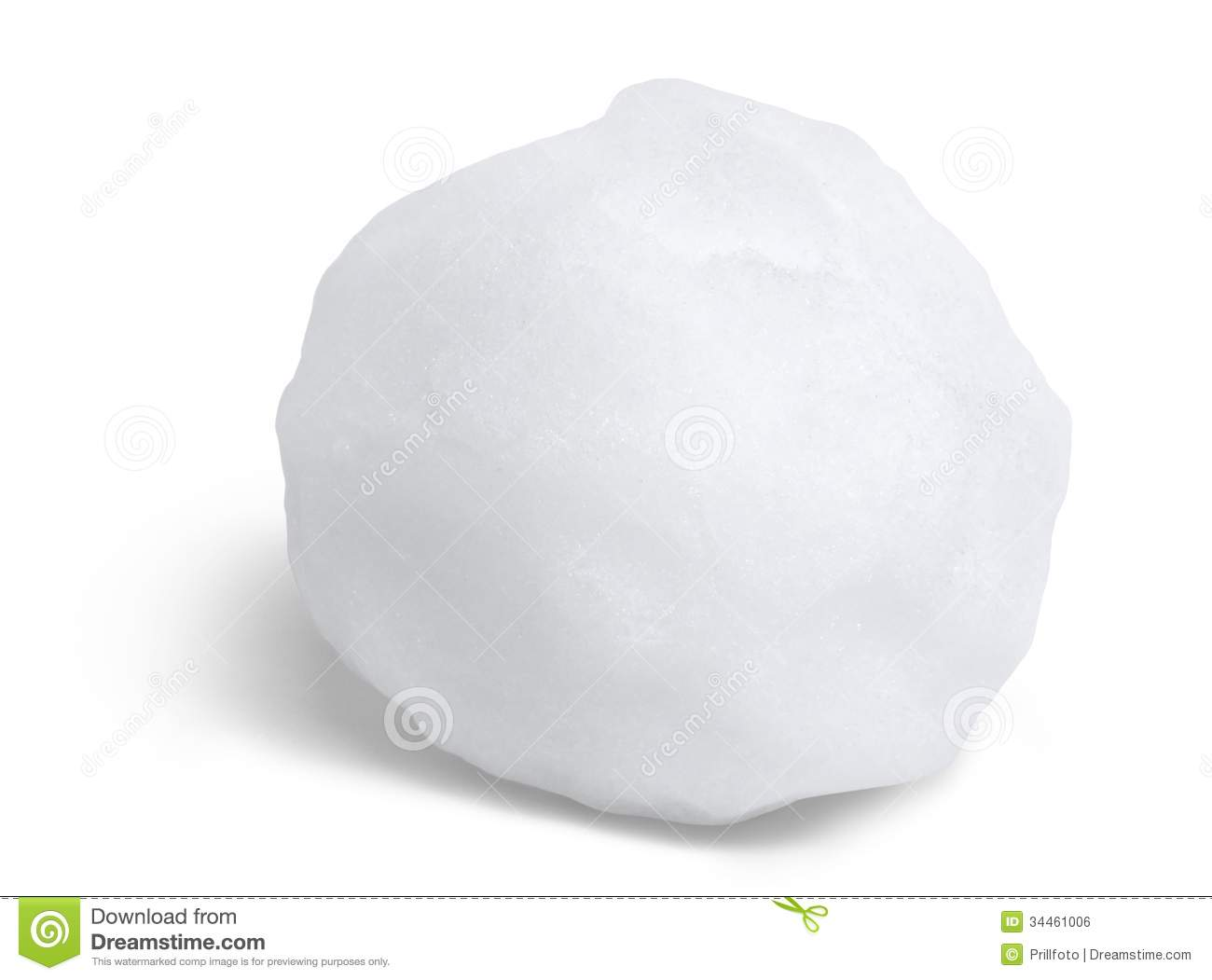 Snowball Royalty Free Stock Image - Image: 34461006