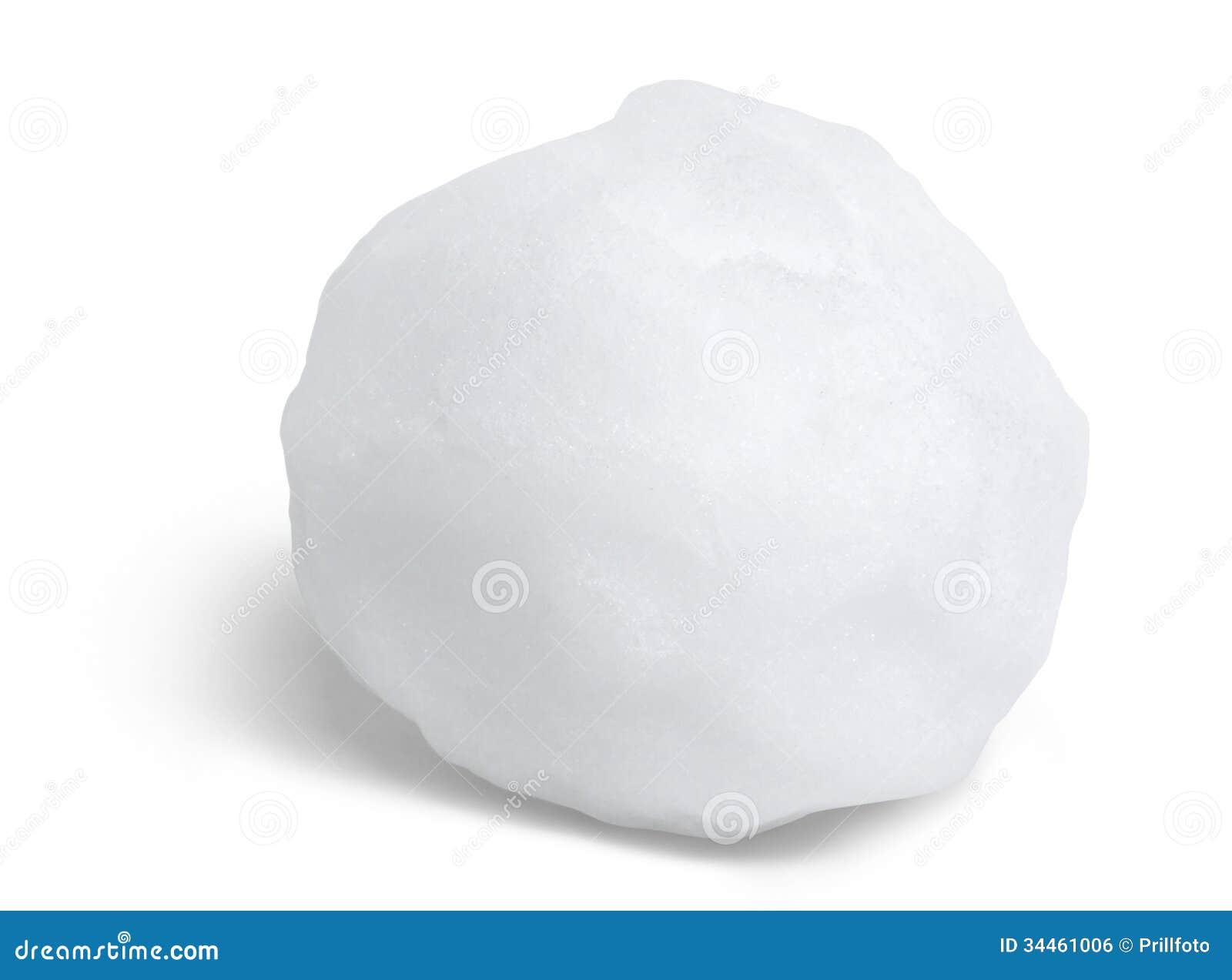 Snowball Royalty Free Stock Image Image 34461006
