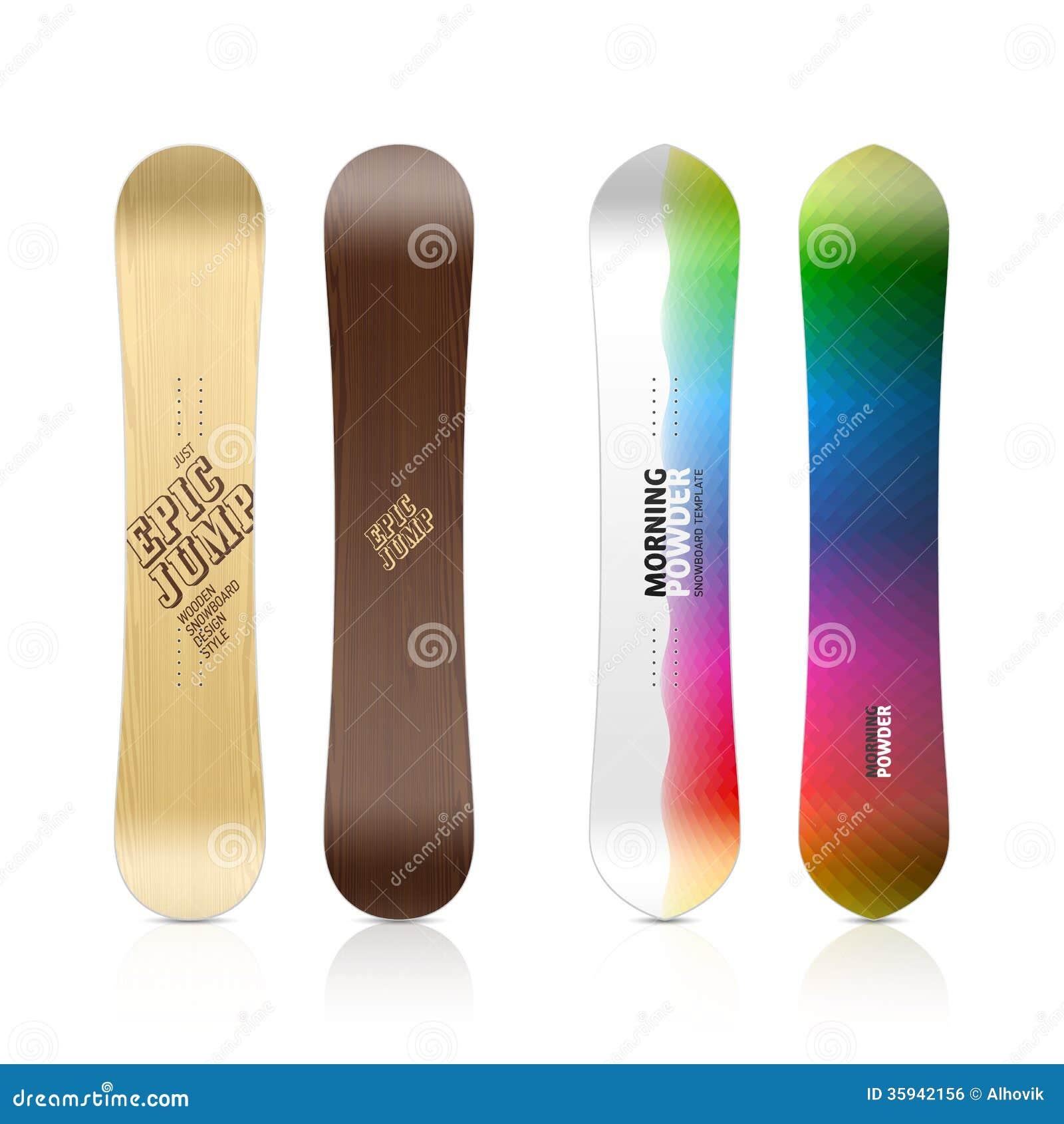 Snowboard Design Stock Vector Illustration Of Snow Outdoors 35942156