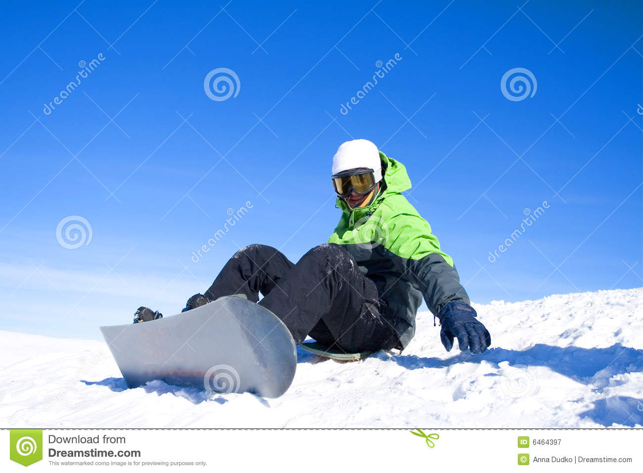 Snowboarder Royalty Free Stock Photography - Image: 6464397