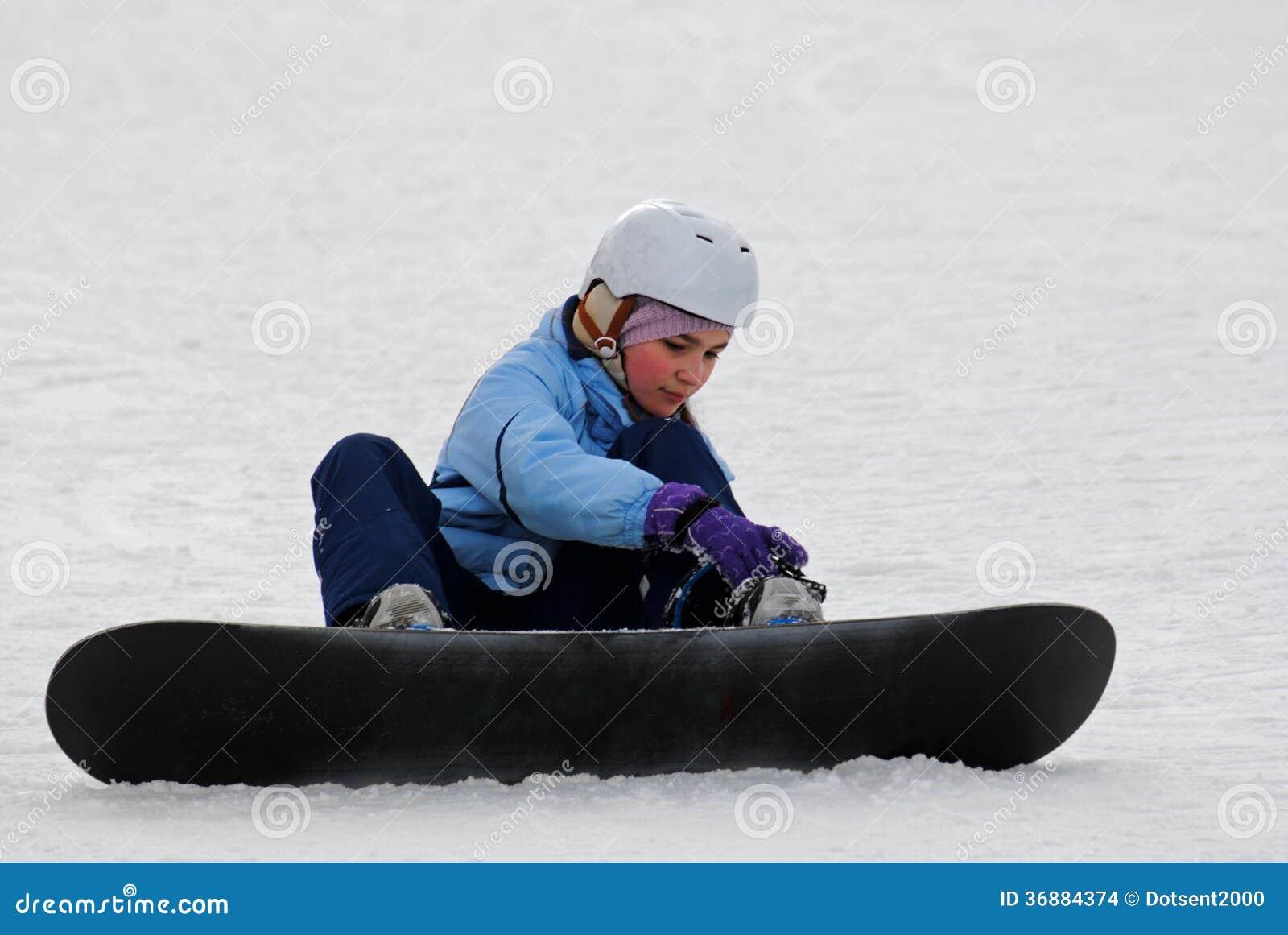 Snowboarder novo