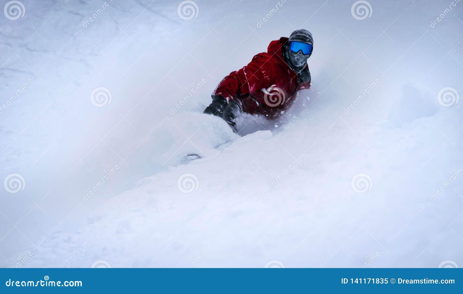 Snowboarding at sunshine, banff, Canada