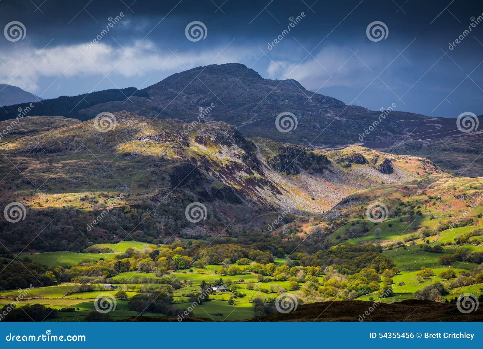 Snowdonia国家公园威尔士
