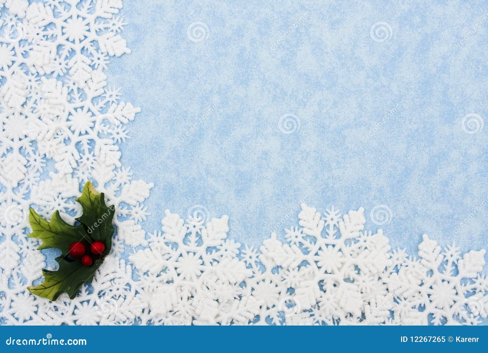 Snowflake Border Royalty Free Stock Photo - Image: 12267265
