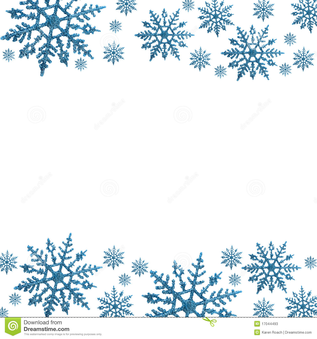Winter Border Clipart Free | New Calendar Template Site
