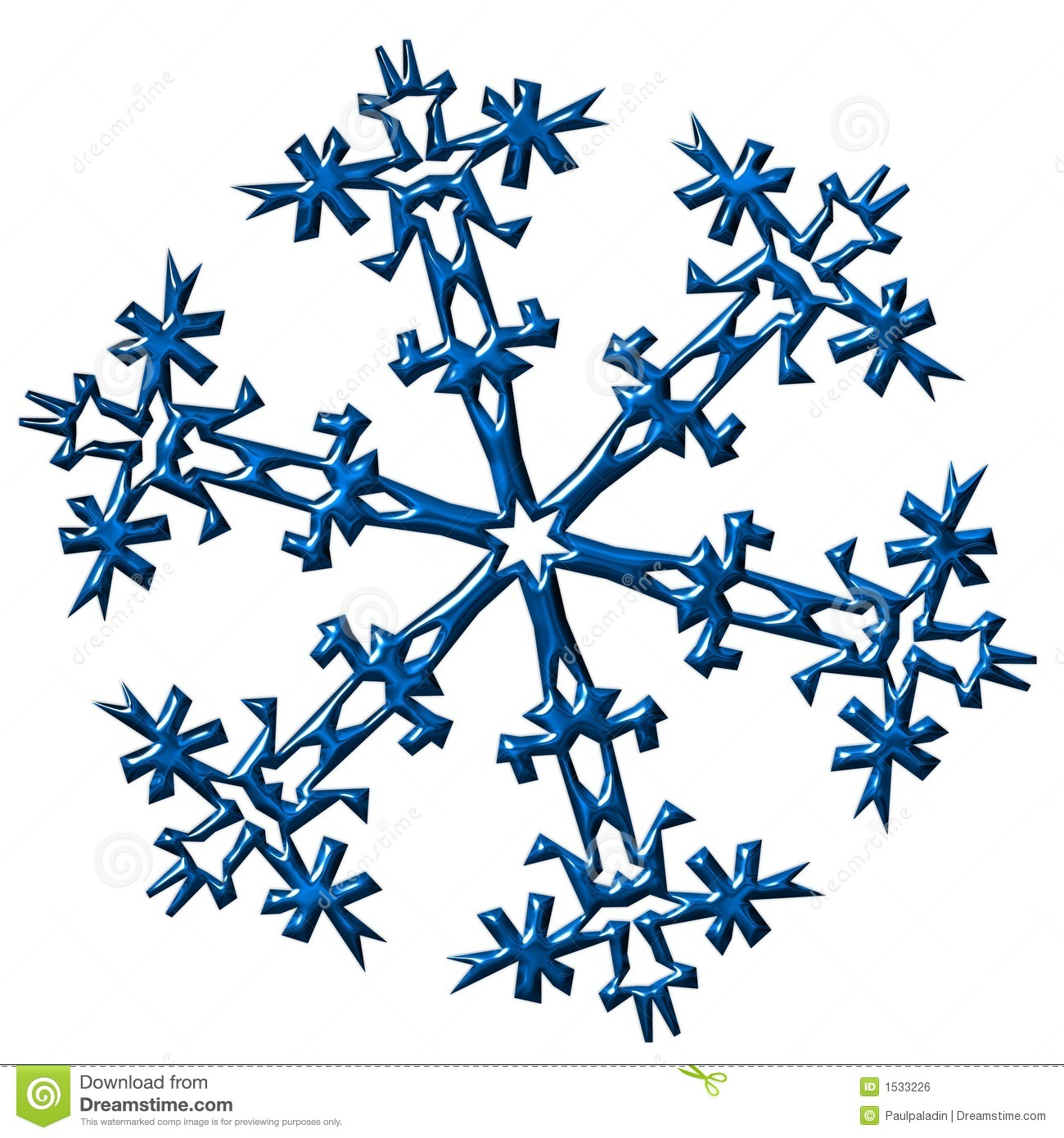 Snowflake illustration royalty free stock image image 1533226 - Flocon dessin ...