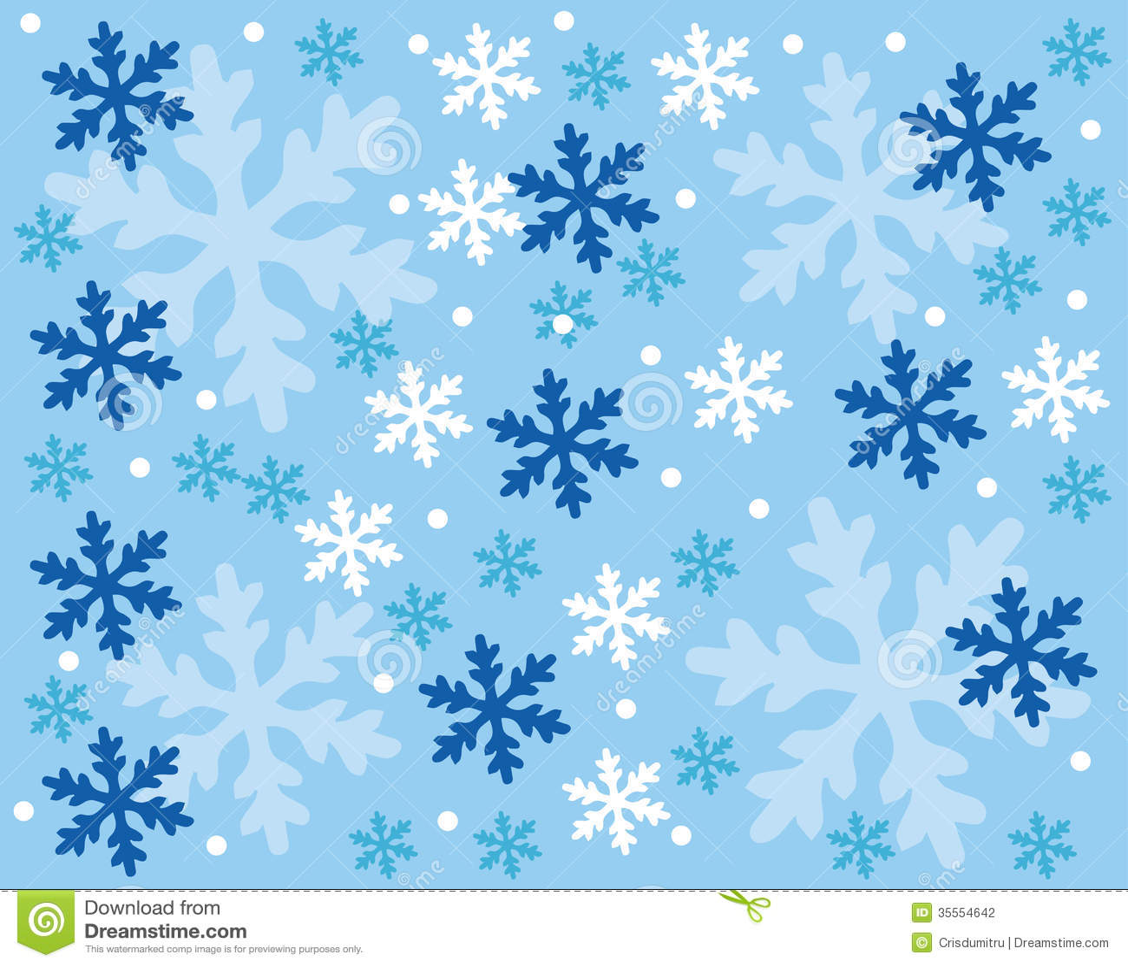 Snowflake Pattern Stock Photography - Image: 35554642