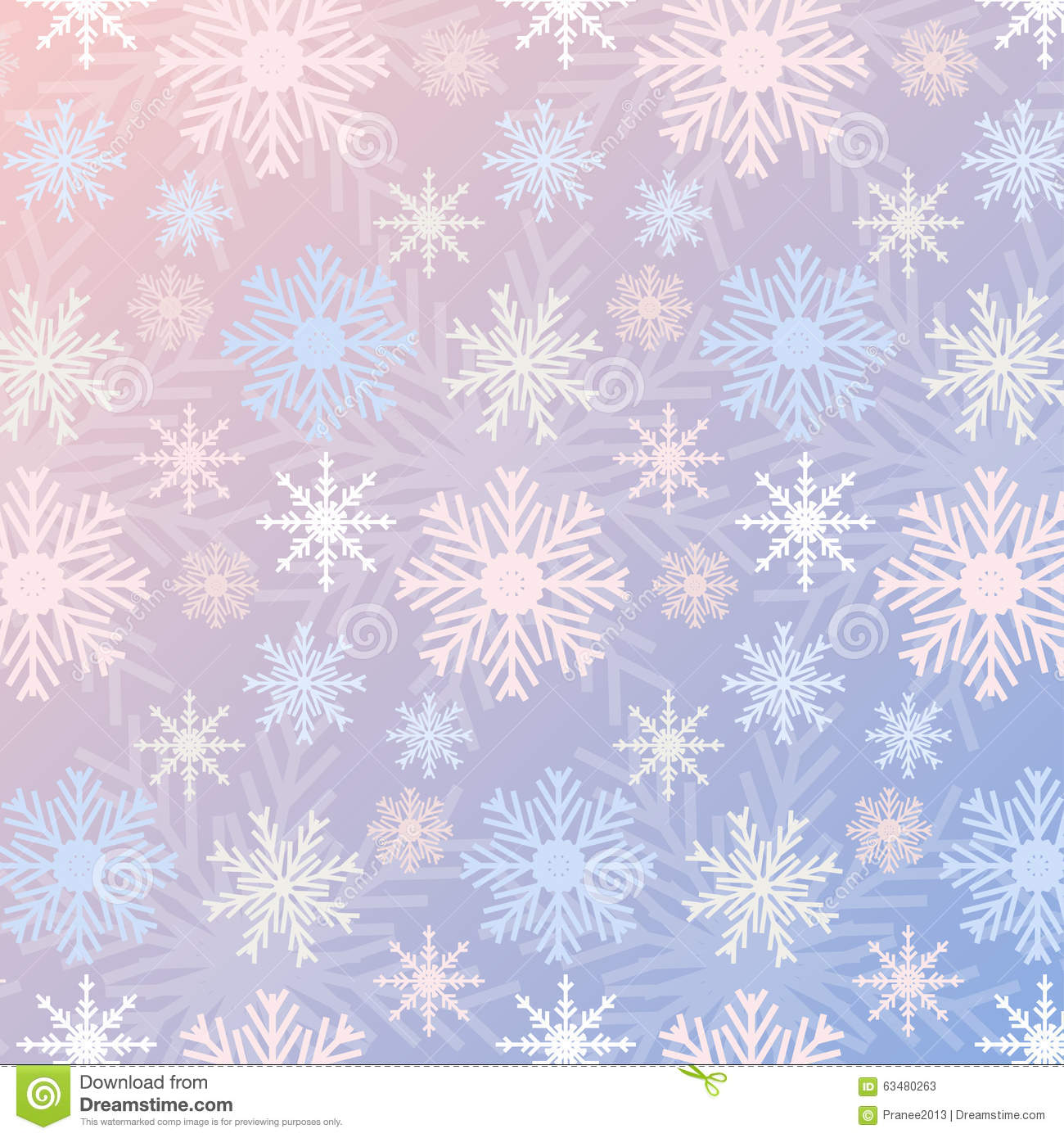 snowflake seamless pattern gradient rose quartz and serenity colored vintage background stock. Black Bedroom Furniture Sets. Home Design Ideas