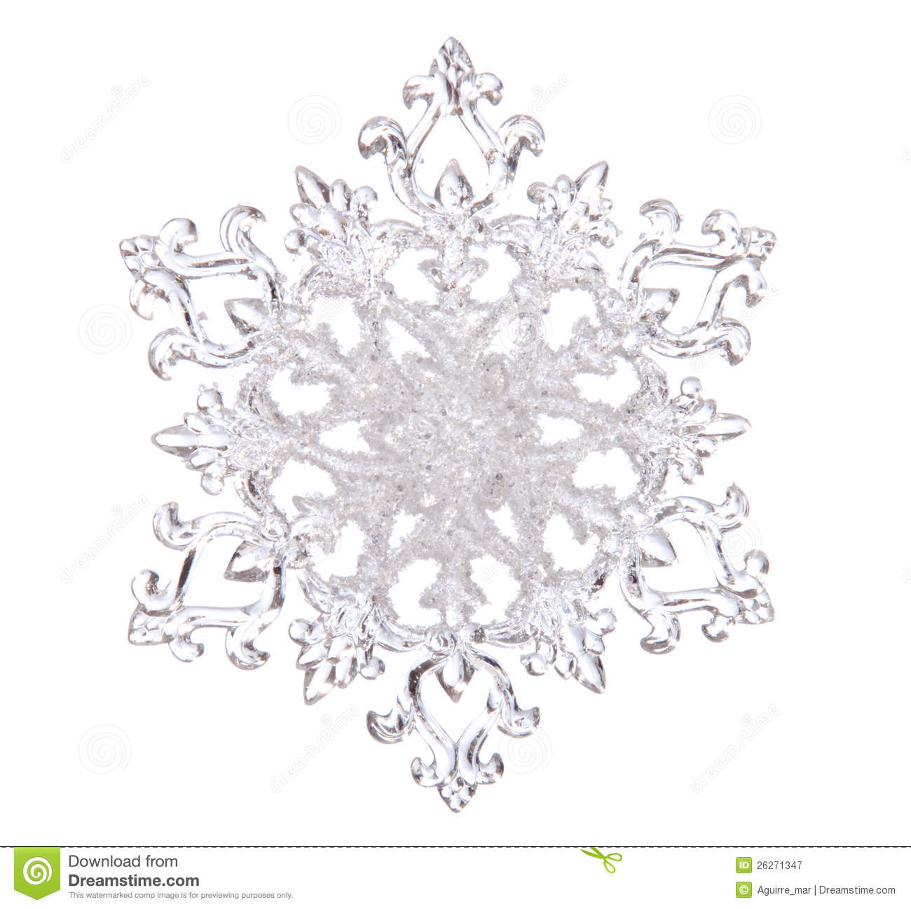 Snowflake Clipart Transparent Background Snowflake shape  photo on theWhite Snowflake Transparent Background
