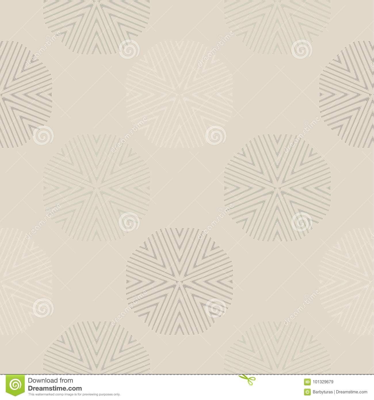 Snowflake Simple Seamless Pattern. Abstract Wallpaper, Wrapping