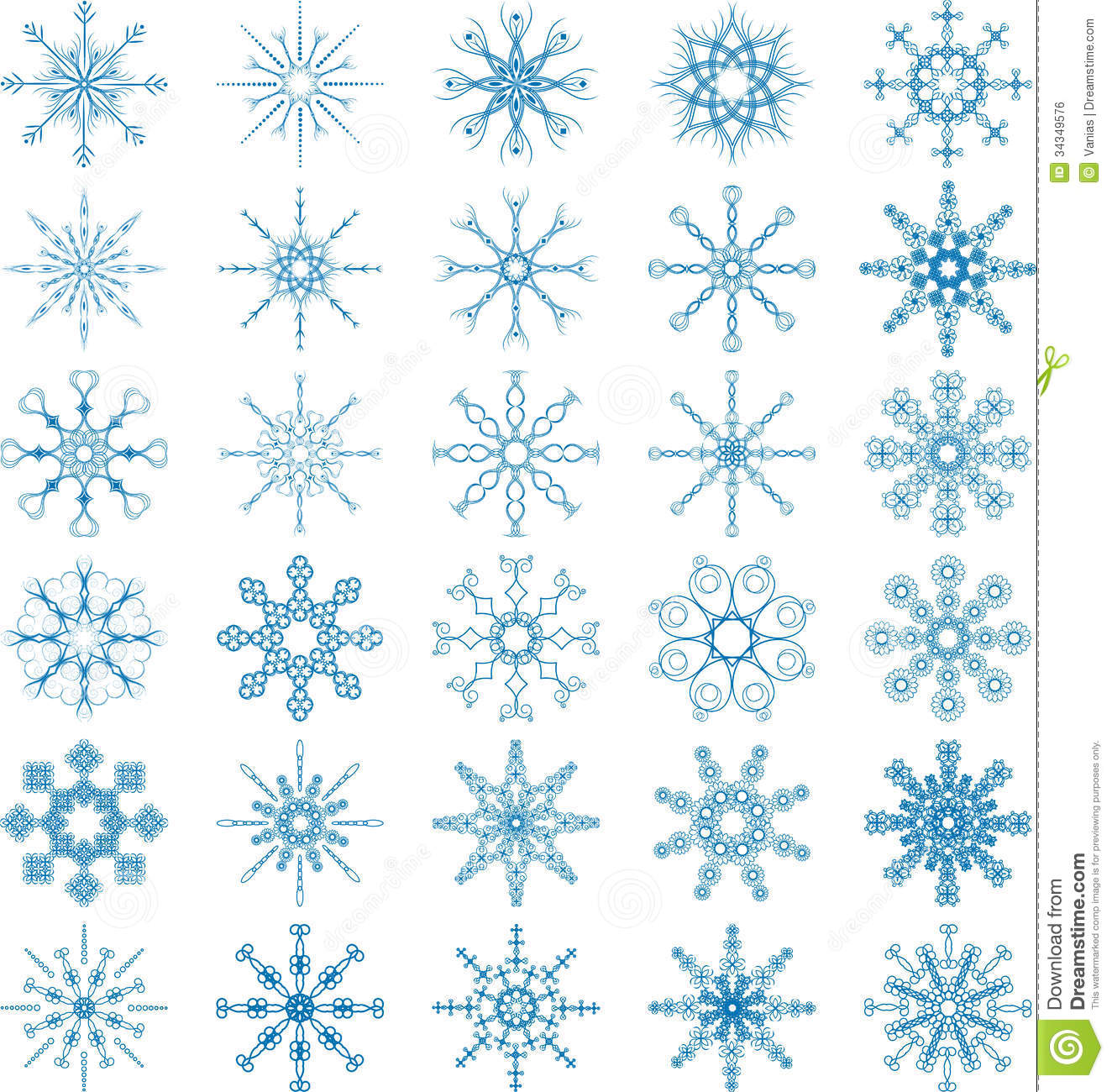 White Snowflake Vector Free Download Snowflake vector set royaltyWhite Snowflake Vector Free Download