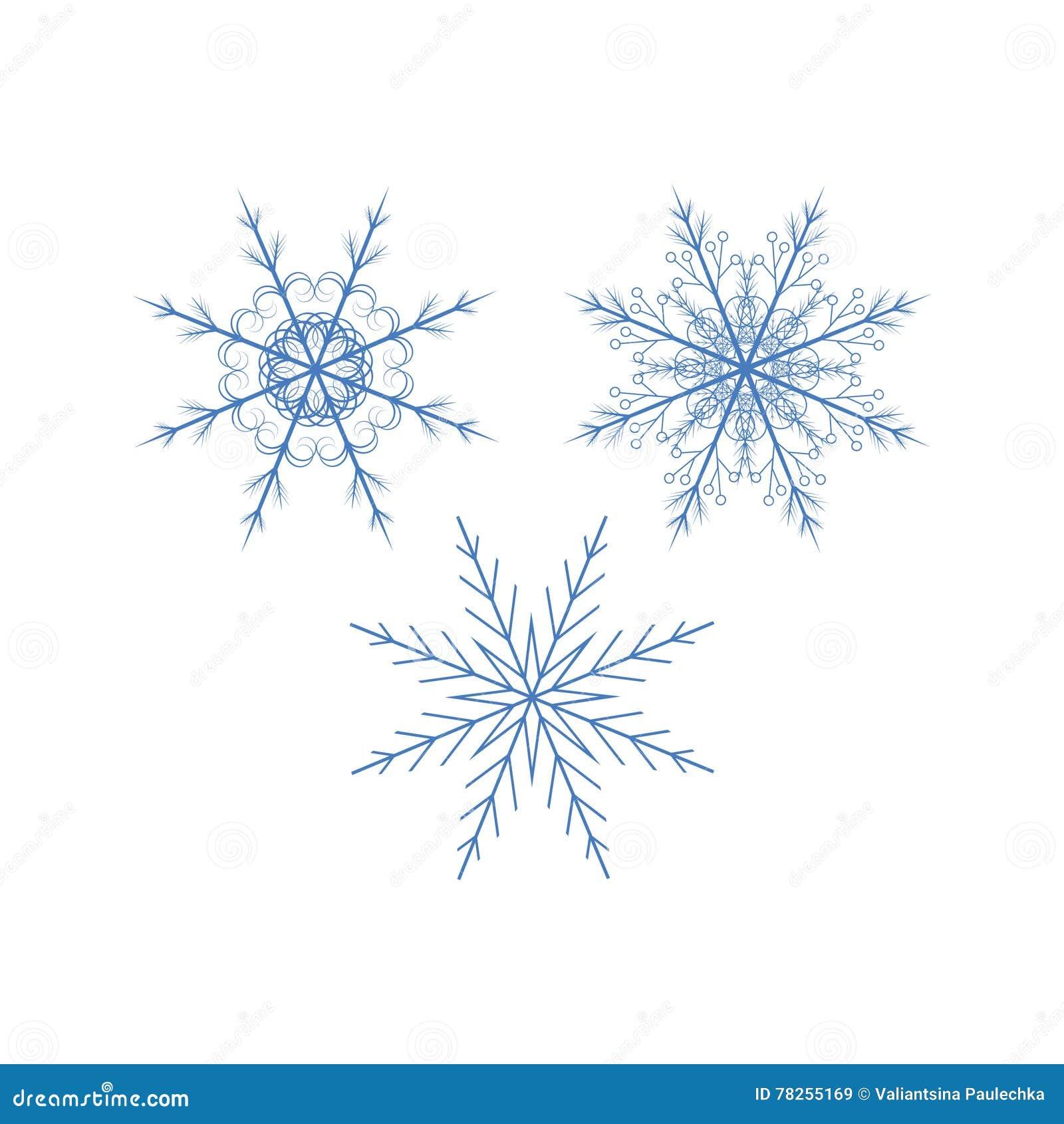 1 snowflakes απεικόνισης ανασκόπησης καθορισμένο διανυσματικό λευκό