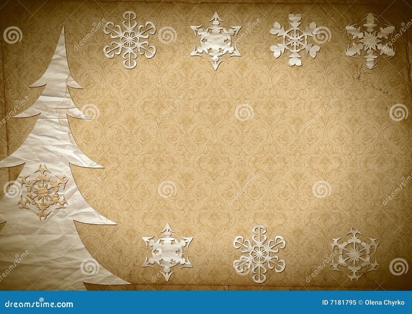Snowflakes γουνών δέντρο