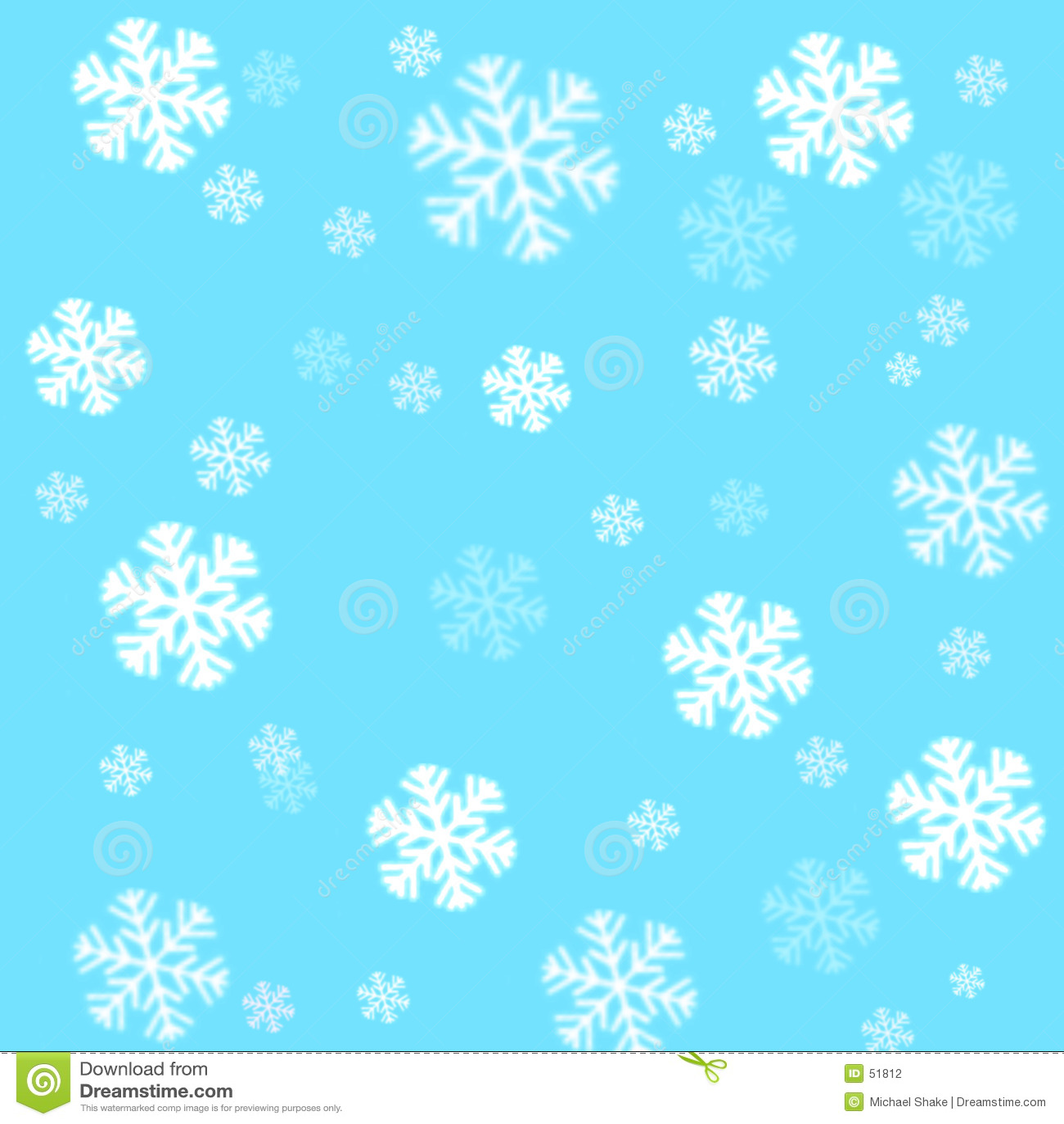 Snowflakes μπλε ουρανού ανασκόπη&sigma