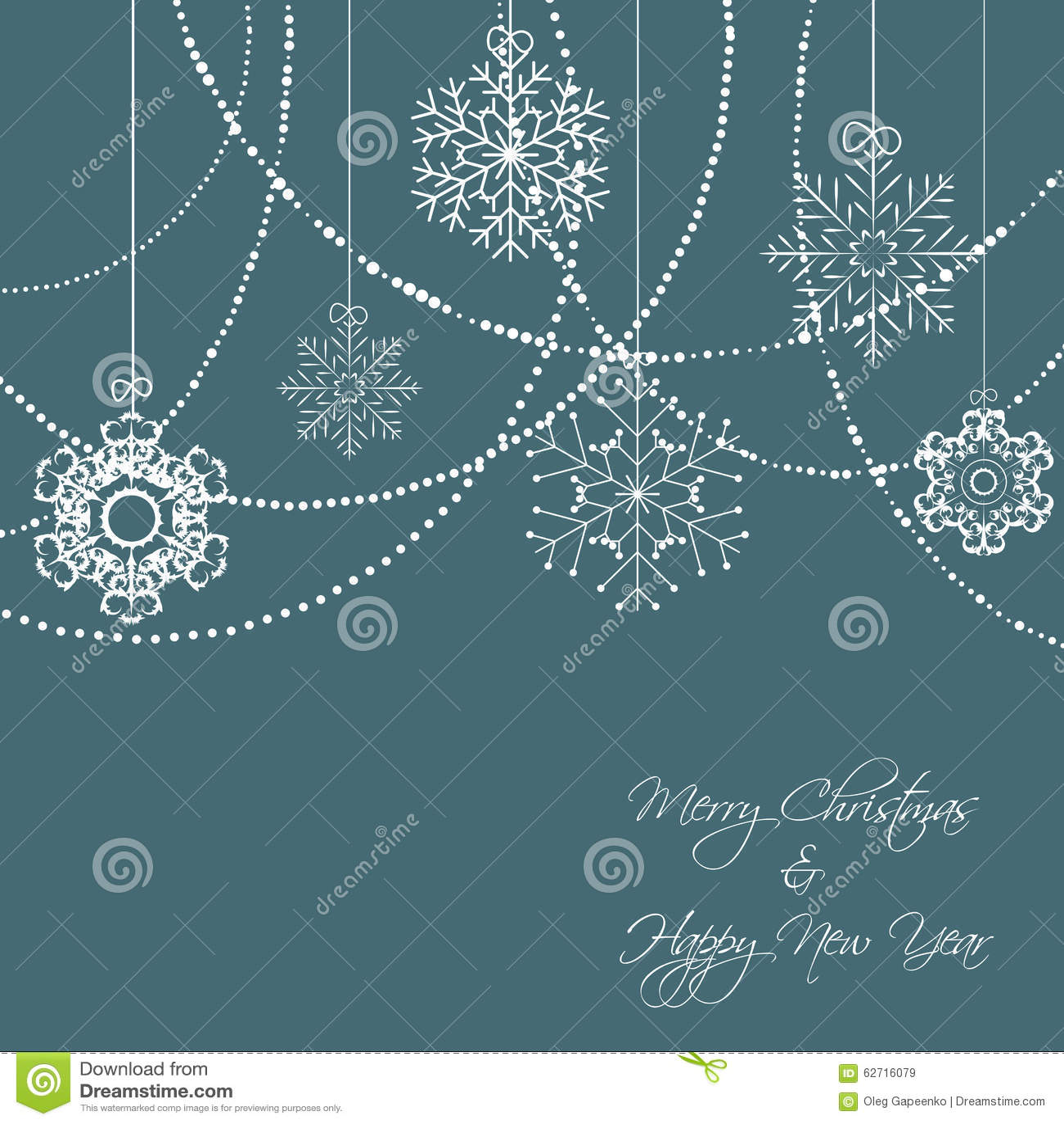 Snowflakes Χριστουγέννων διάνυσμα υποβάθρου