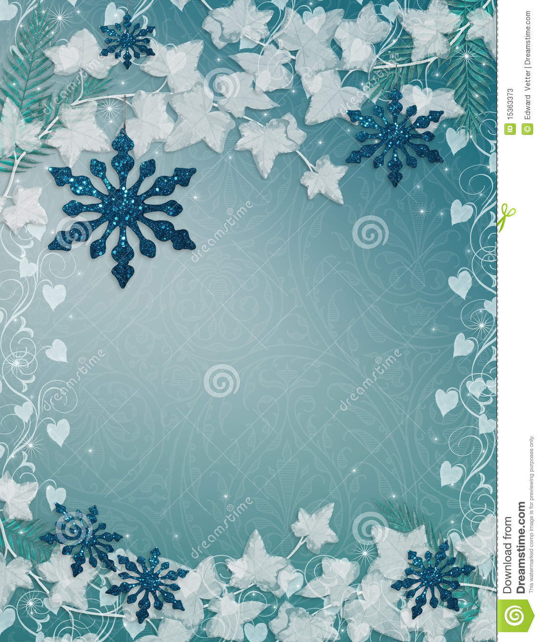 snowflakes background blue stock illustration illustration of party