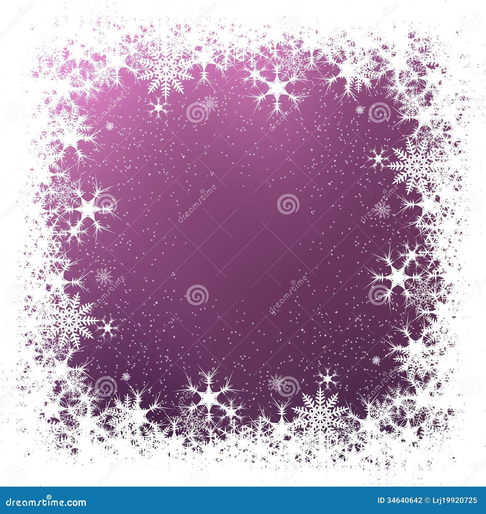 ... border displaying 17 images for purple snowflake border toolbar