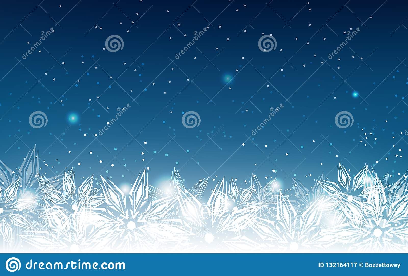 Elegant Christmas Background With Snowflakes Stock Vector: Snowflakes, Winter Holiday, Elegant, Abstract Background
