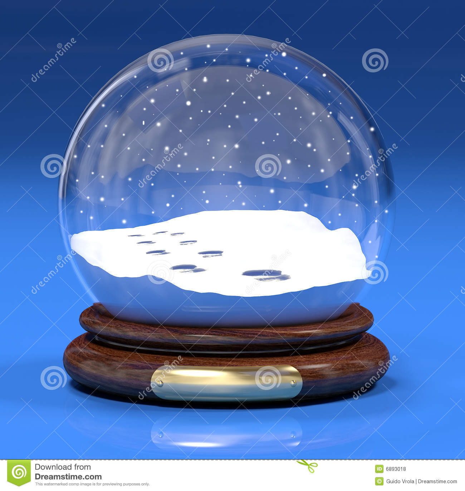 Snowglobe Royalty Free Stock Photos