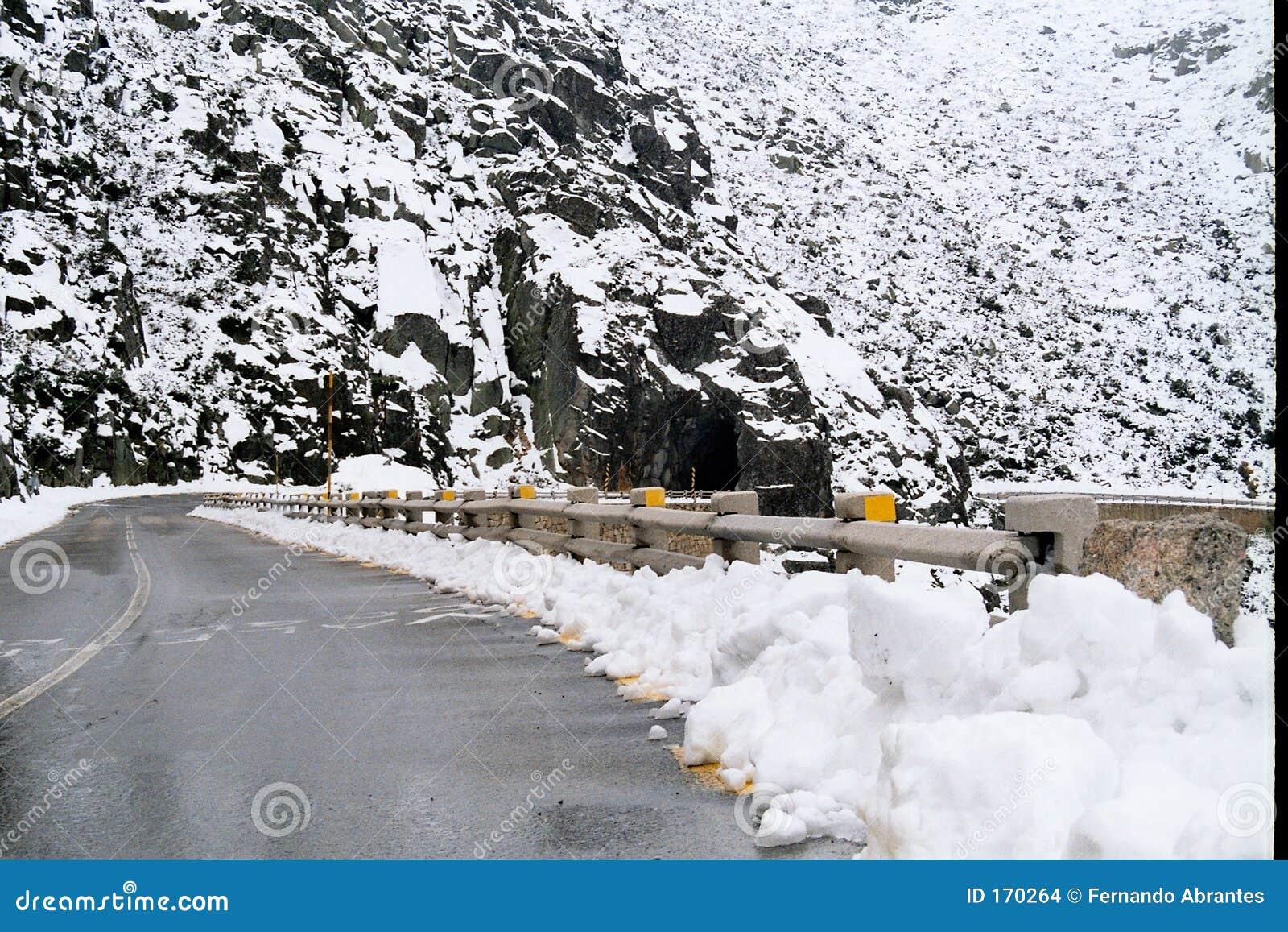 Snowie mountain road