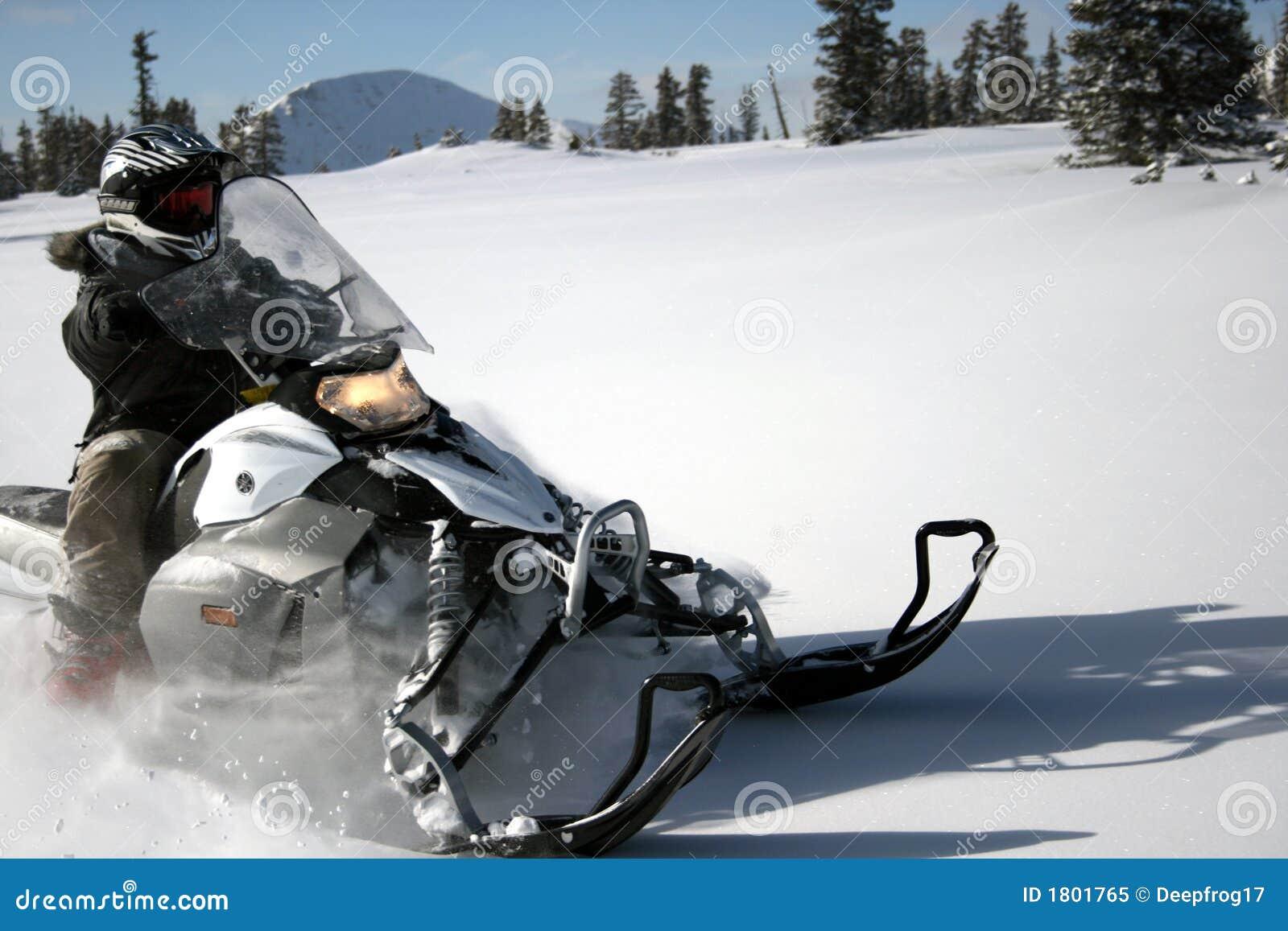 snow machine or snowmobile