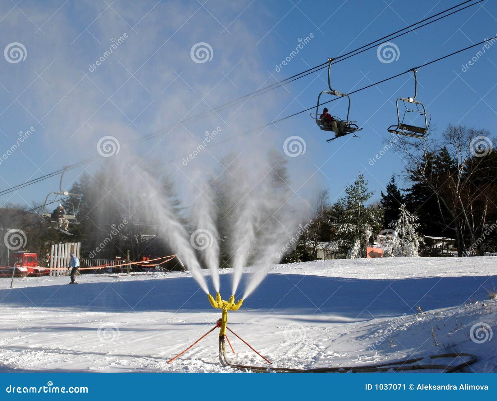 snow making machine price