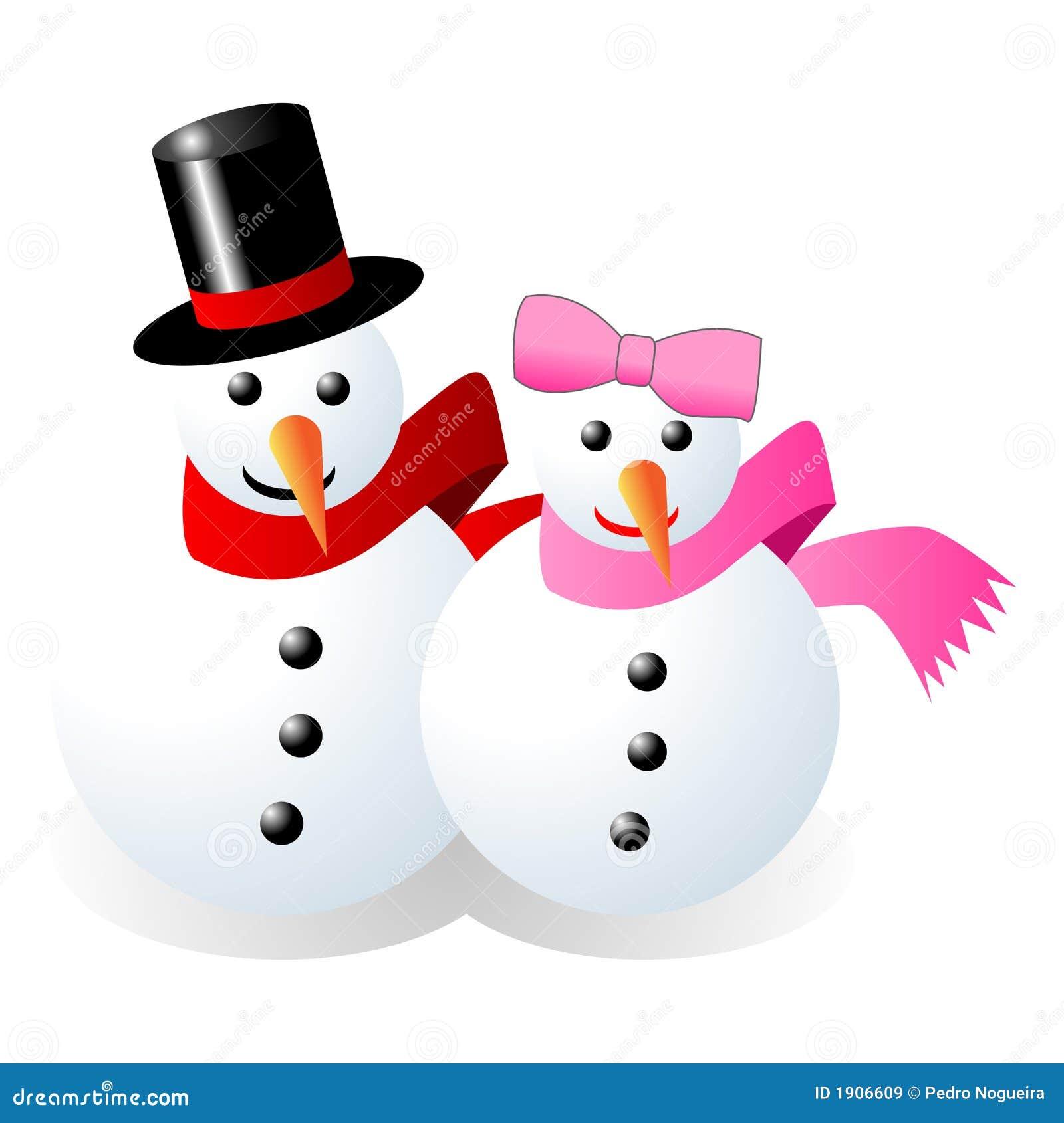 Clip Art Snowgirl Snowman