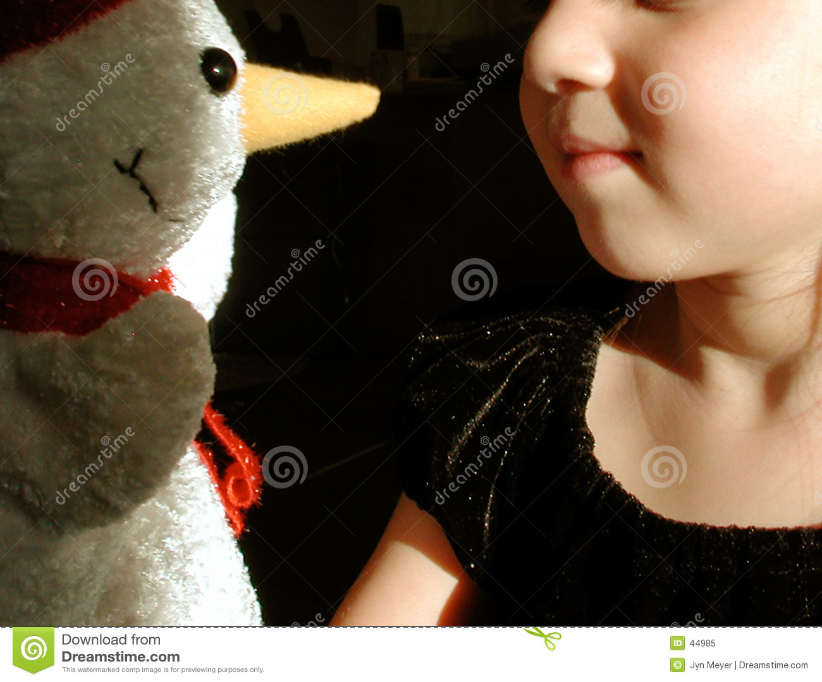Snowman dziecka