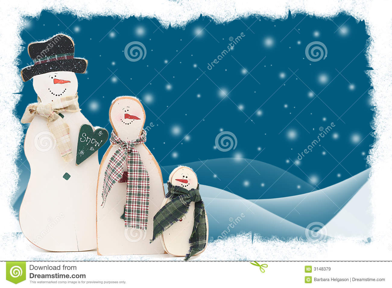snowman family wallpaper - photo #6