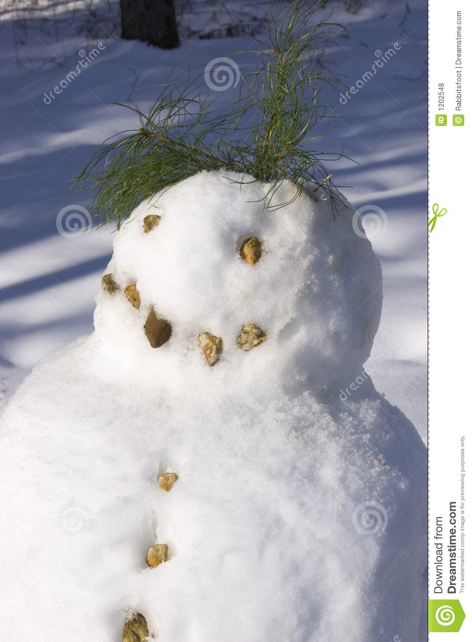 Snowman Head and shoulders