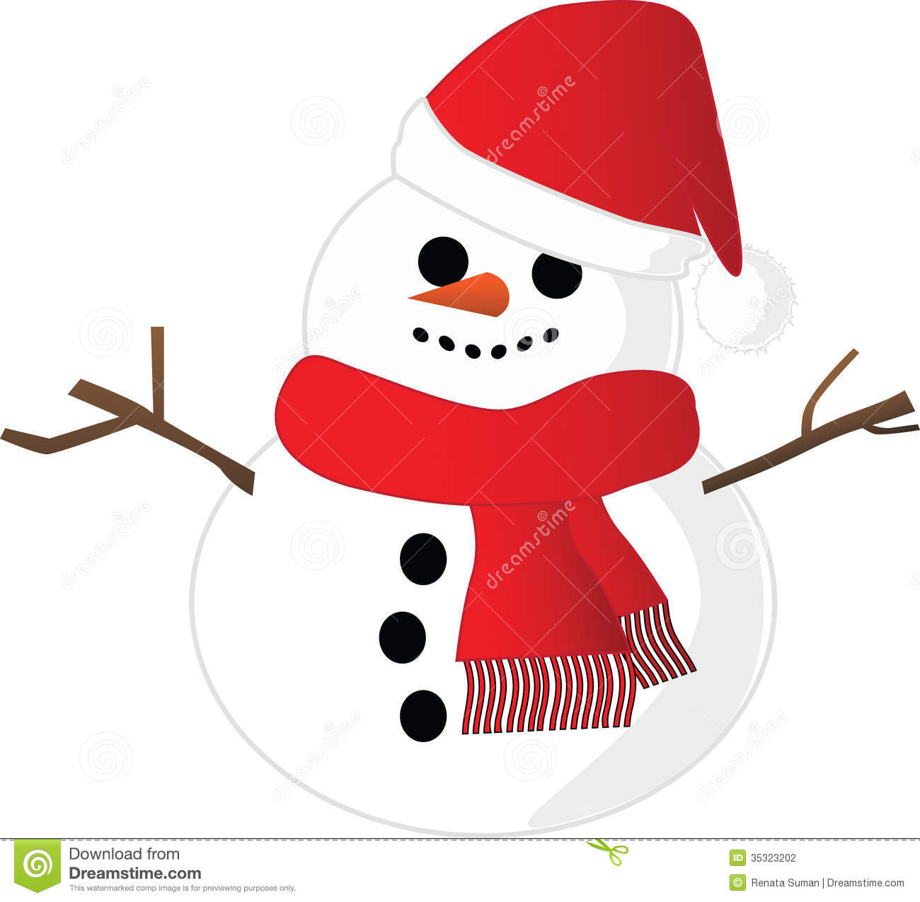 Snowman Stock Photography - Image: 35323202