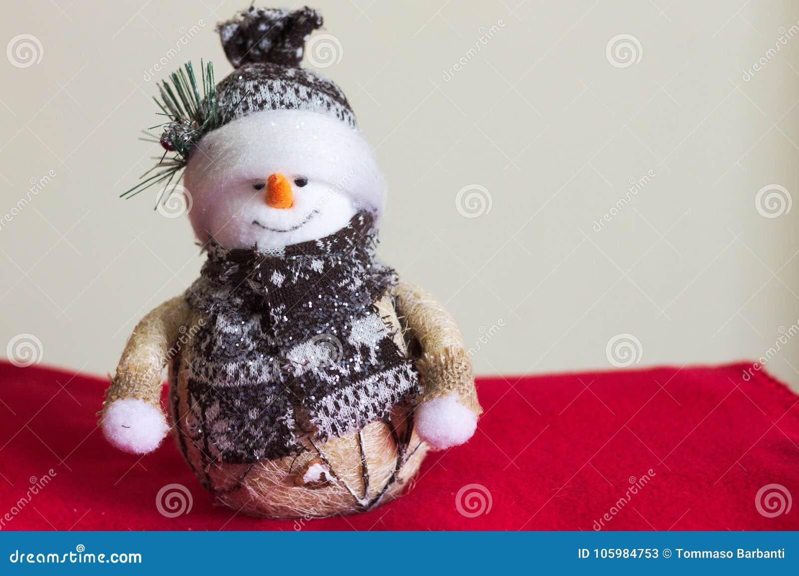 Snowman - Interior Design - Christmas Decorations Stock Image ...