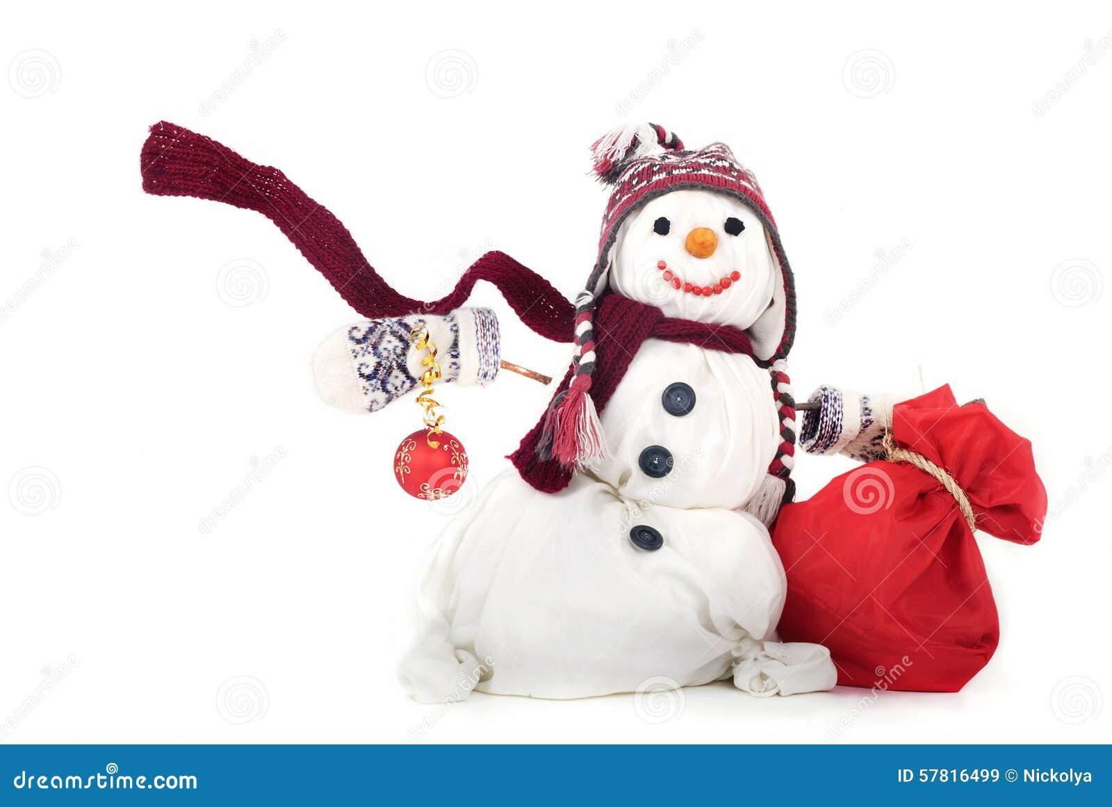 Снеговик картинка своими руками