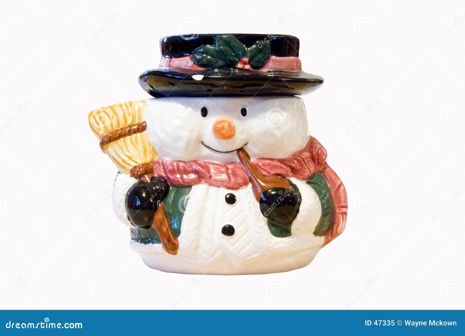 Snowman miotłę