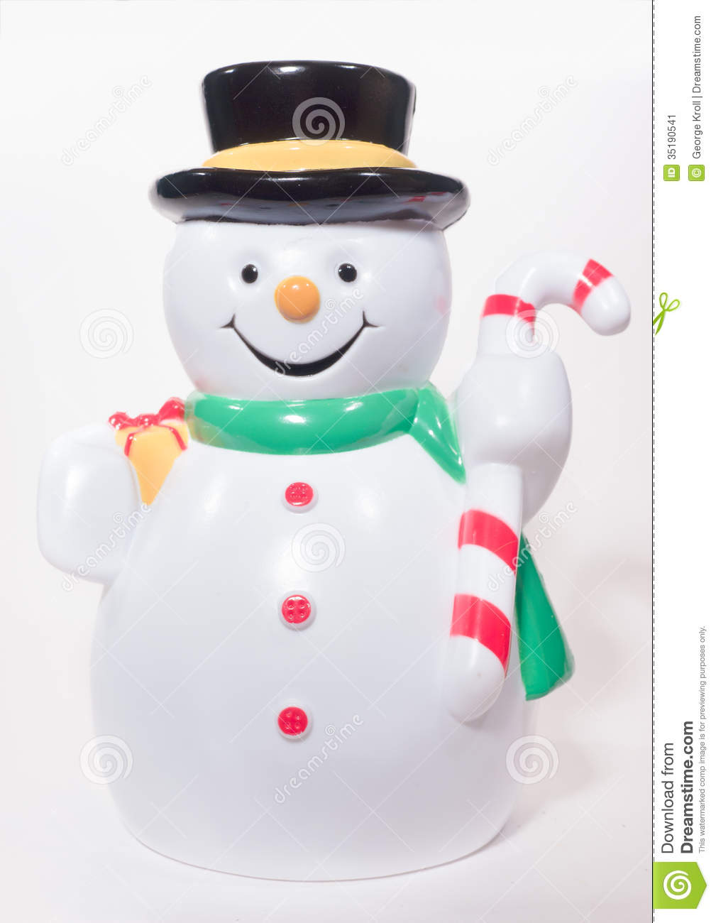 Plastic snowman royalty free stock photo cartoondealer for Plastic snowman