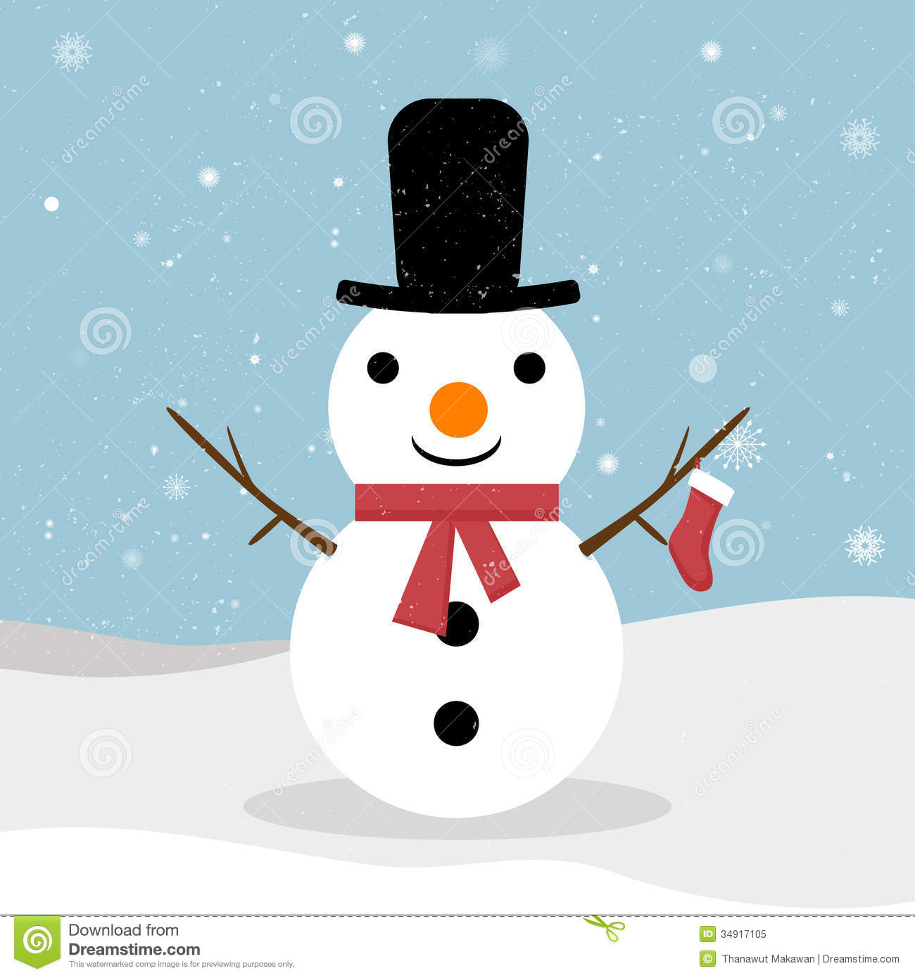 snowman royalty free stock photo image 34917105