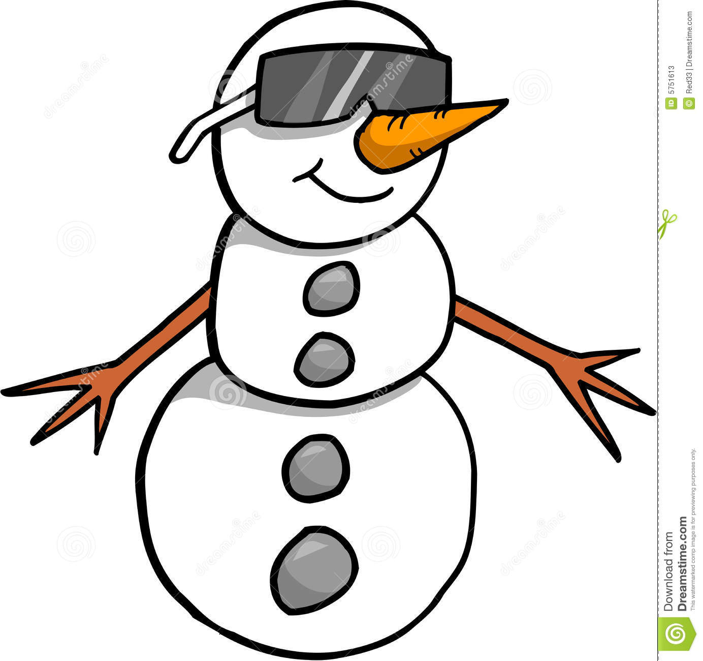 snowman vector illustration stock vector illustration of snow rh dreamstime com vector snowmobiles for sale in wisconsin vector snowflake patterns