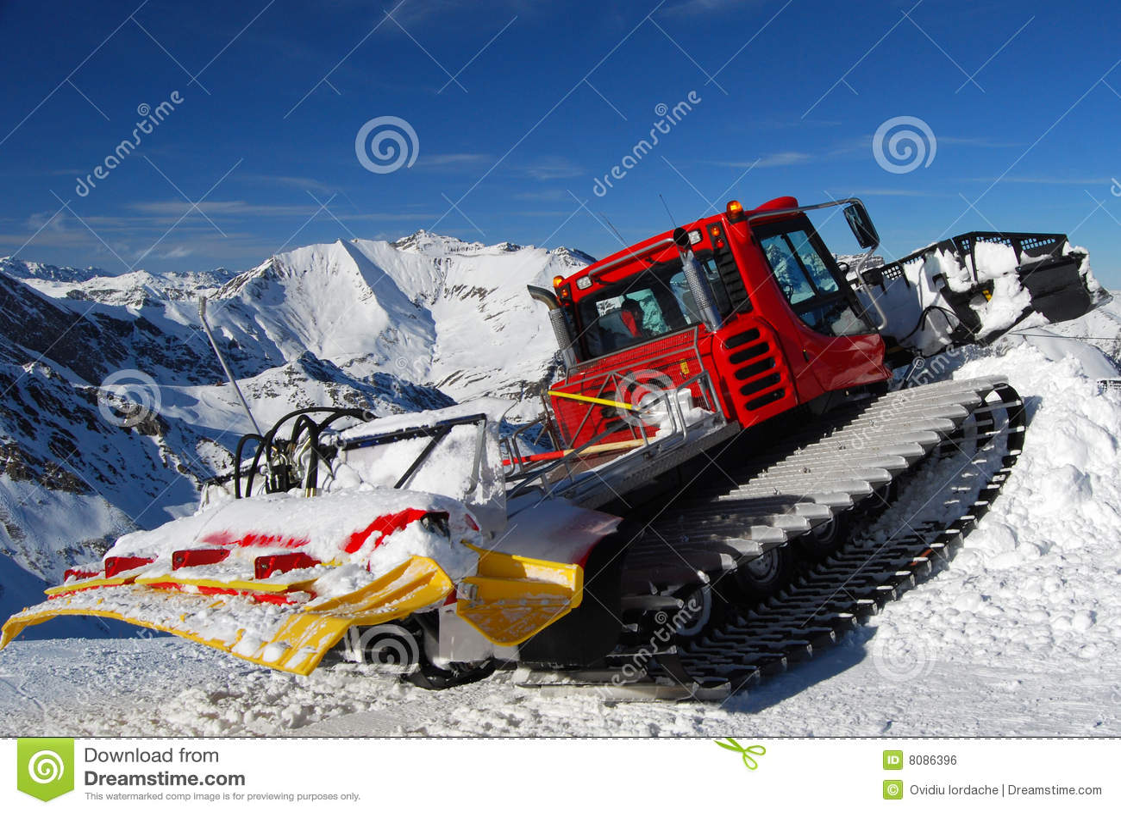 Ski Slope Dudes Ploughing
