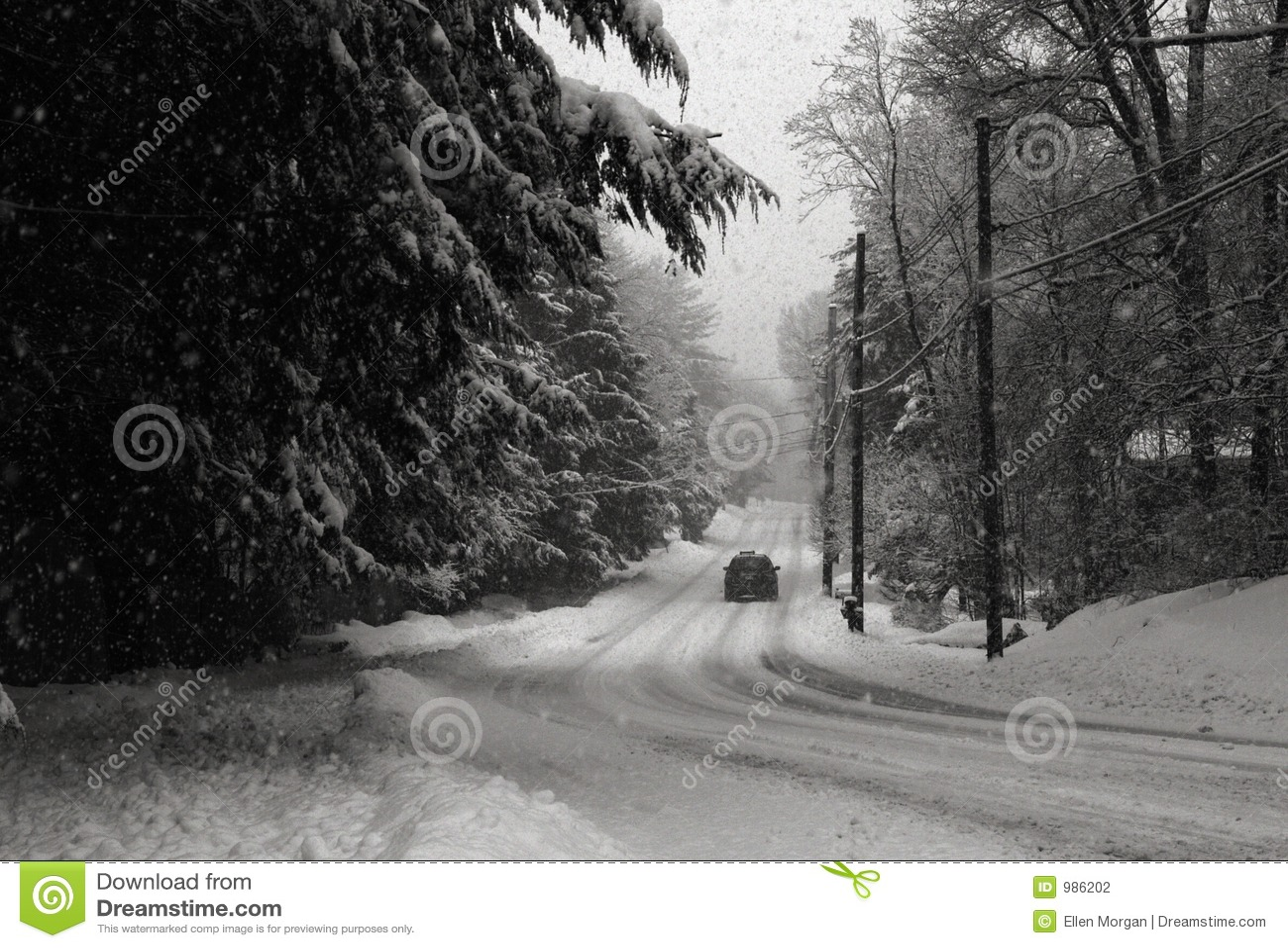 Snowstorm εθνικών οδών