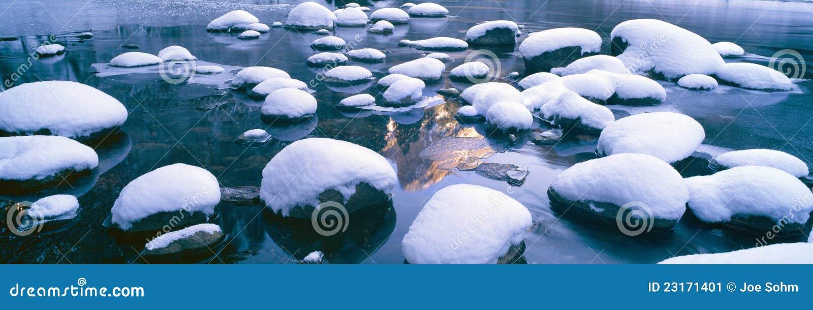 Snowy Merced River