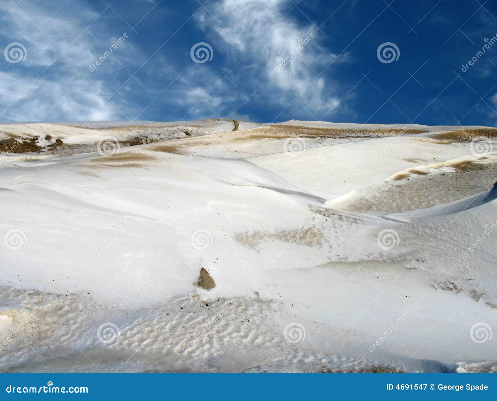 Snowy-Wüstenhimmel