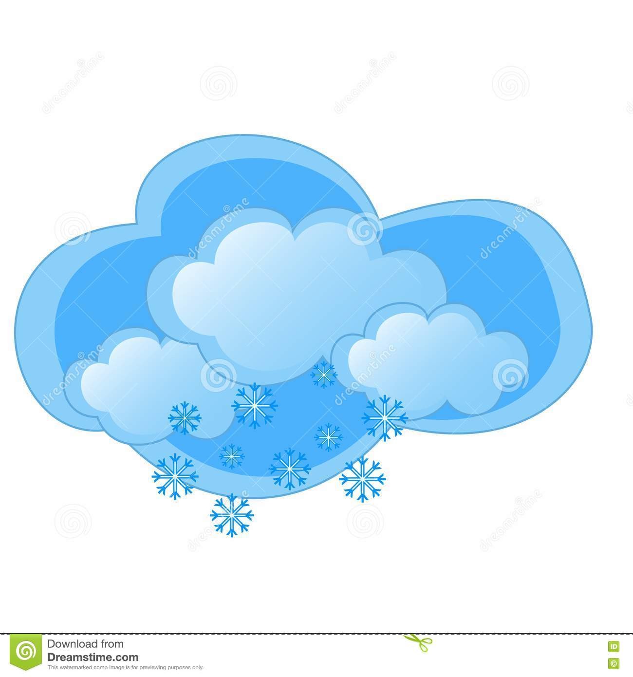 Snowy Weather Royalty Free Stock Image Image 15309226