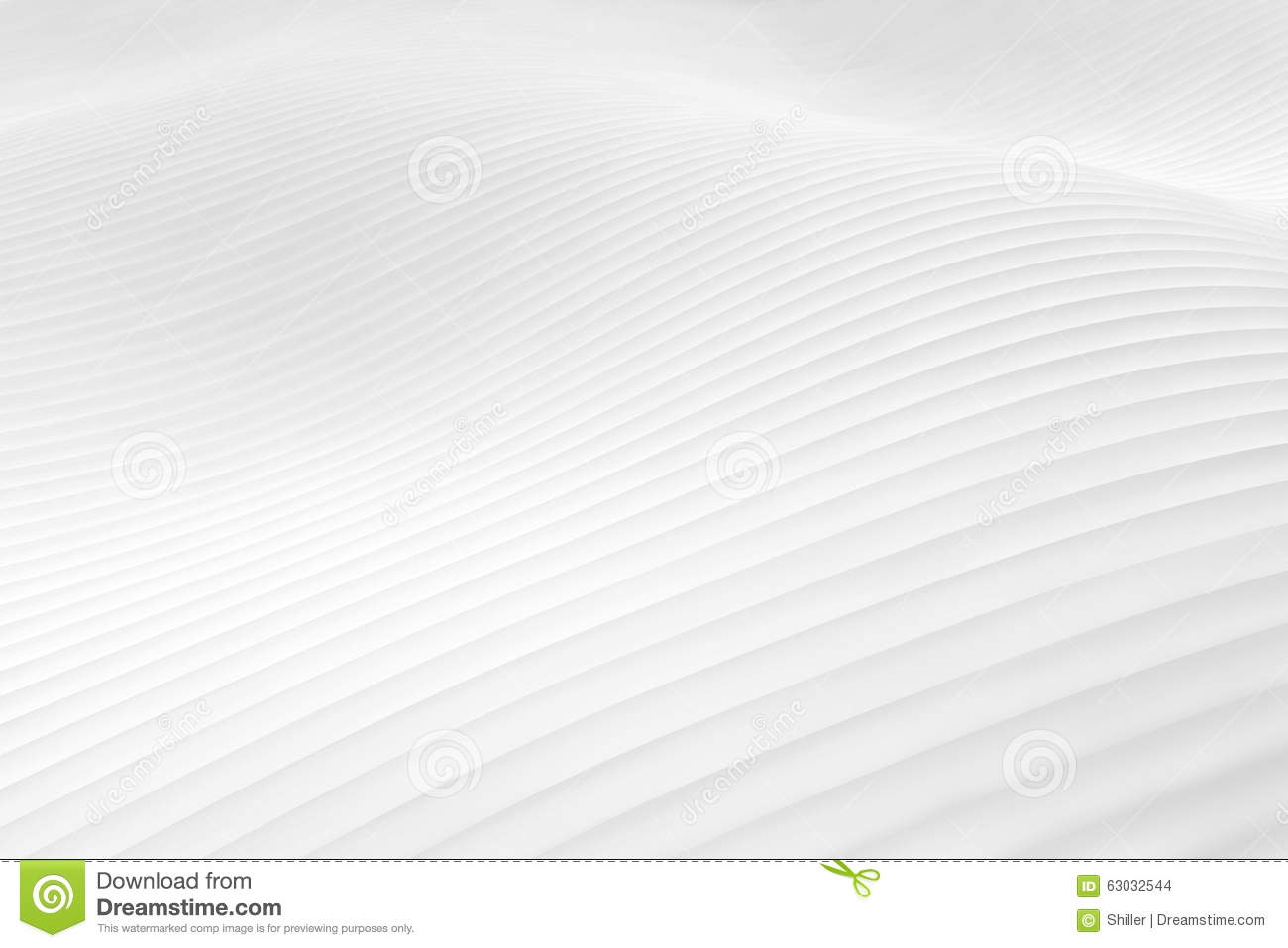 Snowy white hilly abstract winter landscape surface - horizontal background