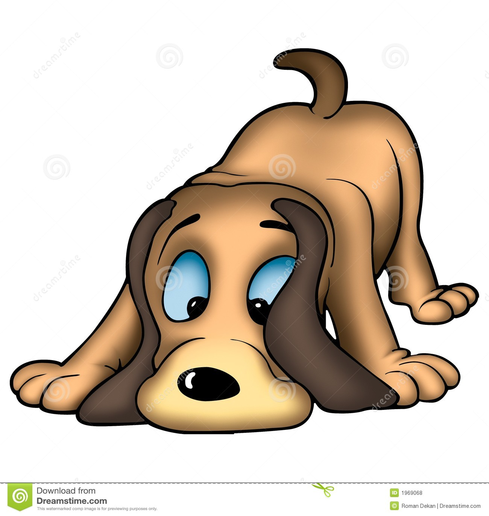 Snuivende hond
