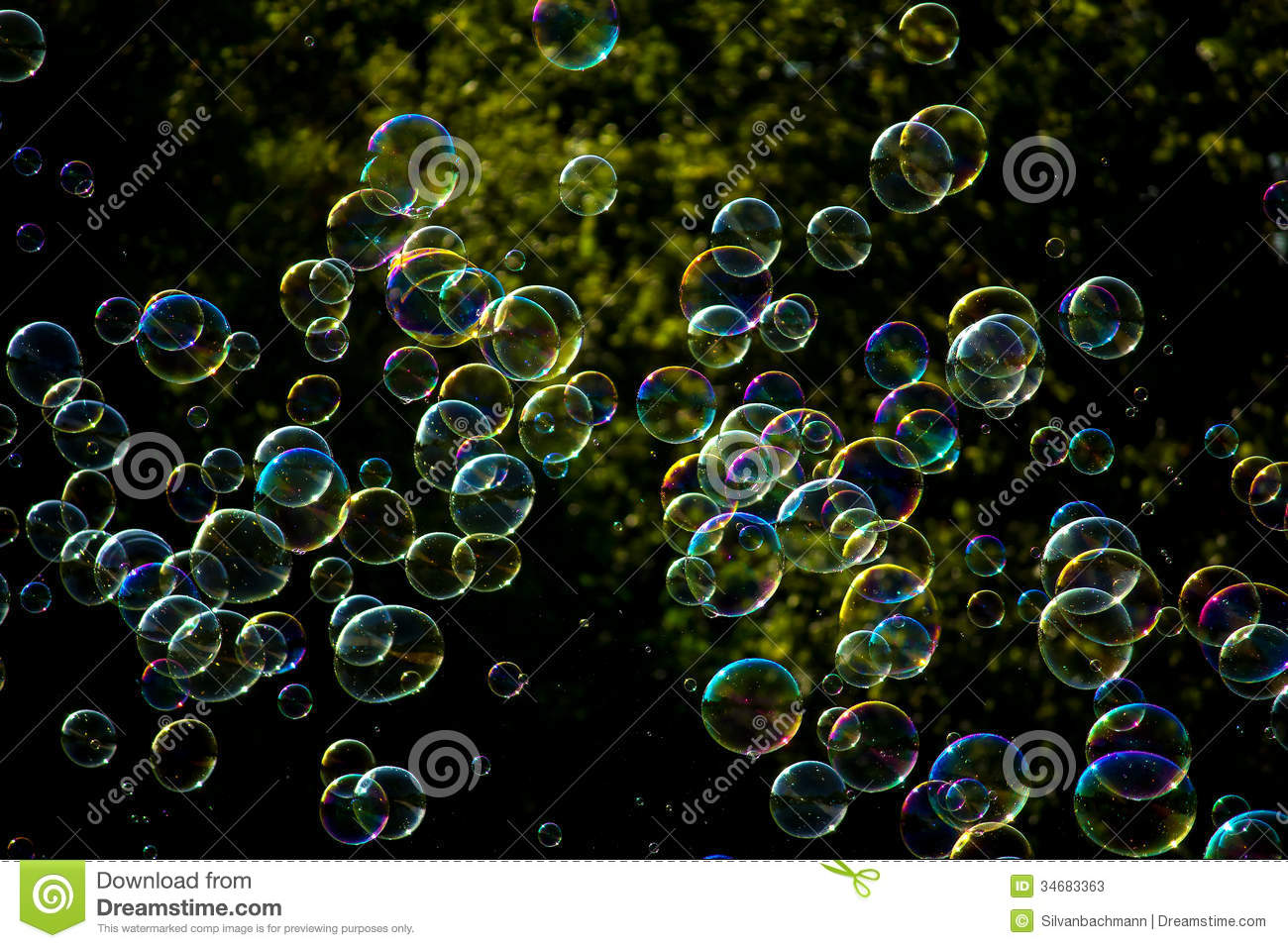 Colorful Soap Bubbles Images & Pictures - Becuo