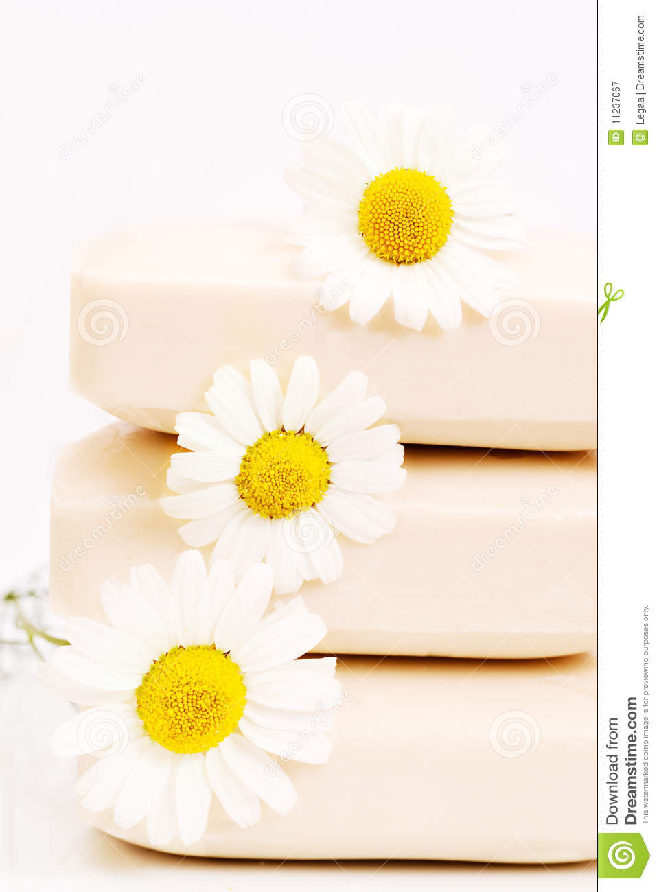 Soap with chamomile