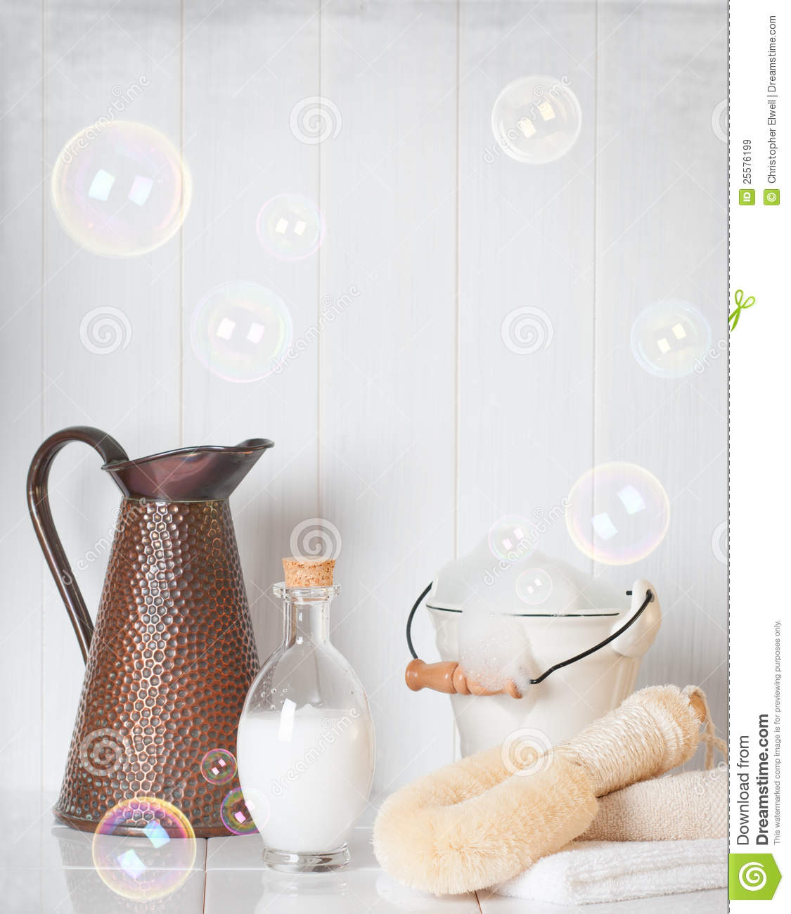 Towels, Soap And Sponges Royalty-Free Stock Photo ...