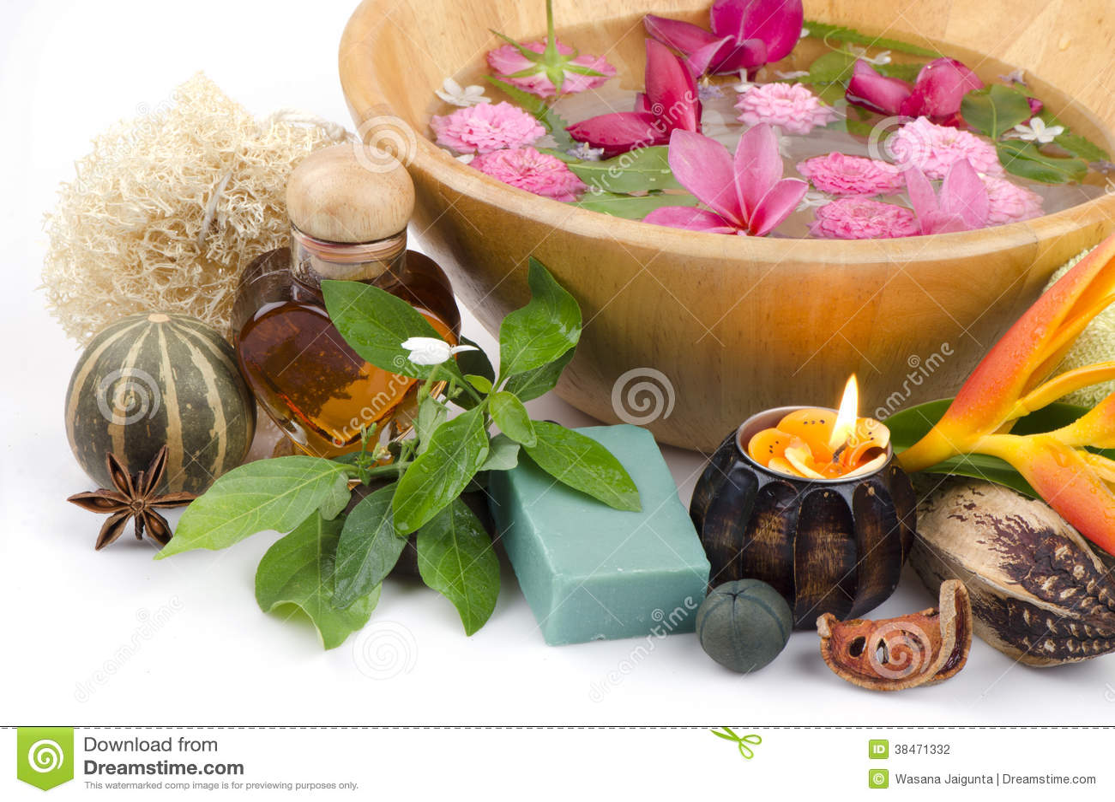 Soap White Crane Flower Mix Honey Stock Photo Image Of Honey